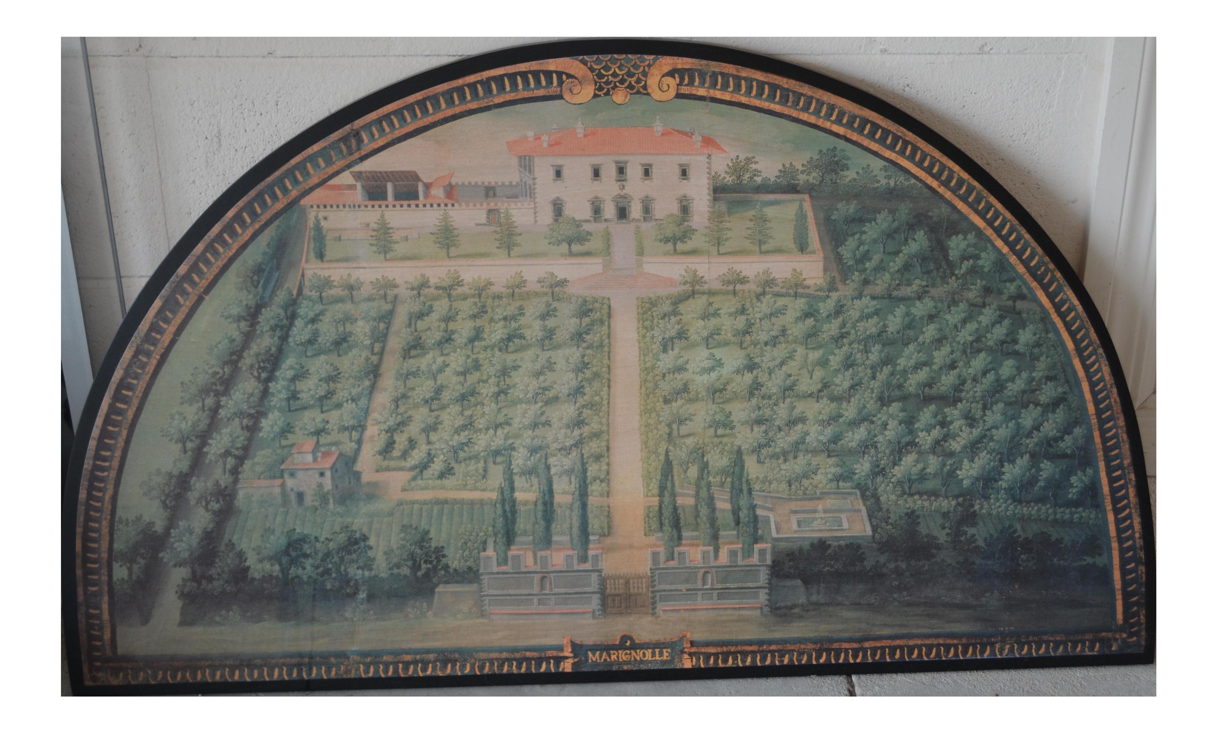 ballard designs tuscan villa wall art | chairish