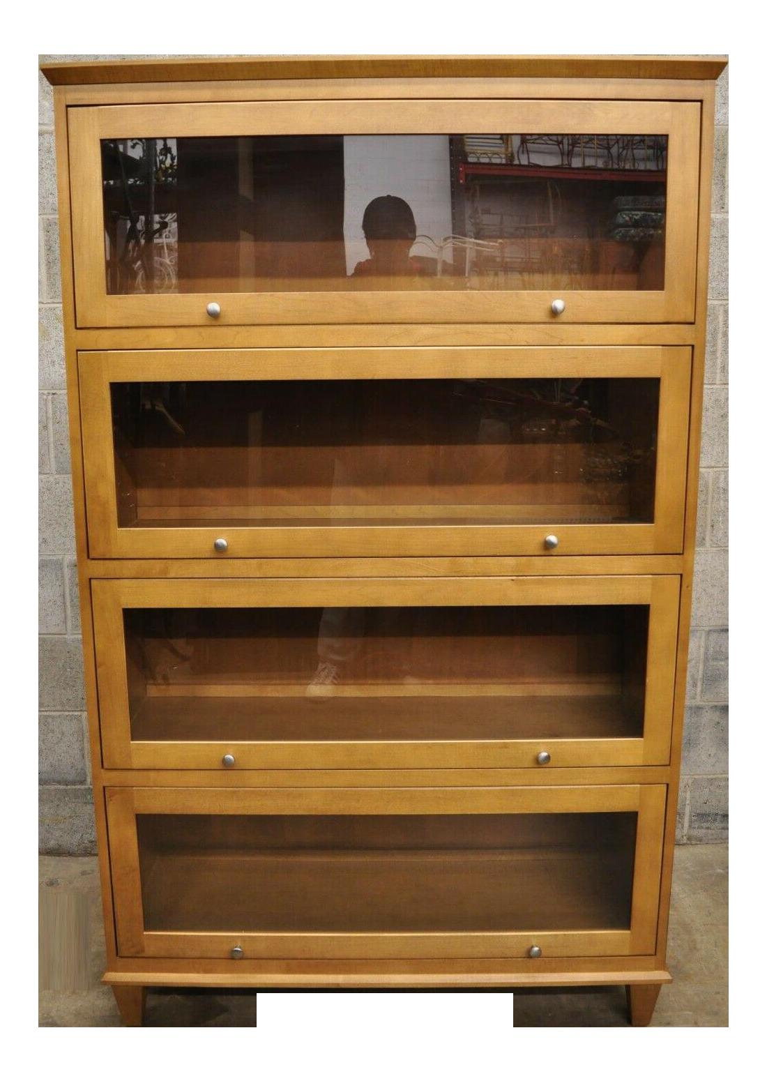 Ethan Allen Maple Bookcase