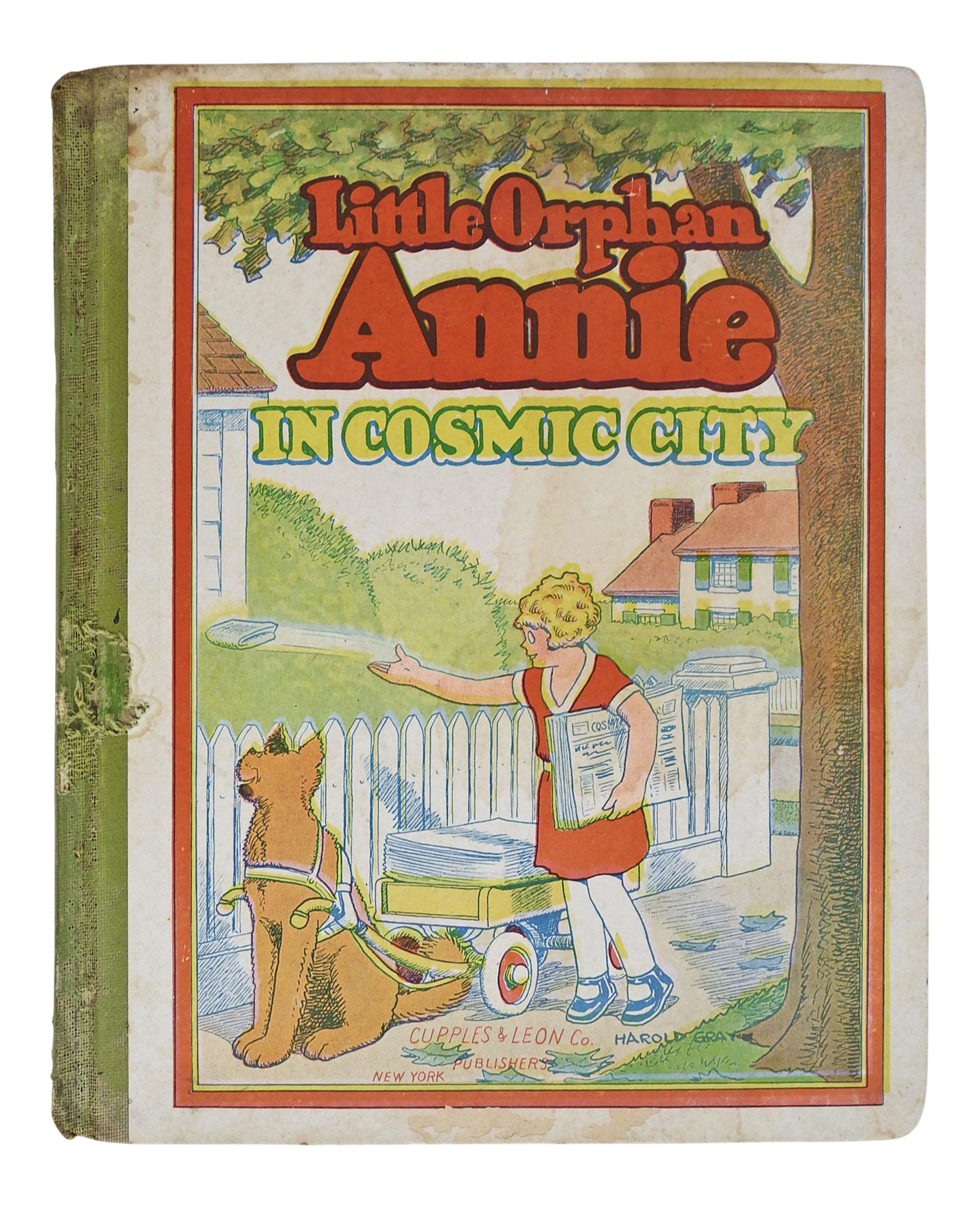 1933 quotlittle orphan annie in cosmic cityquot comic book issue for Kitchen cabinet trends 2018 combined with vintage comic book wall art