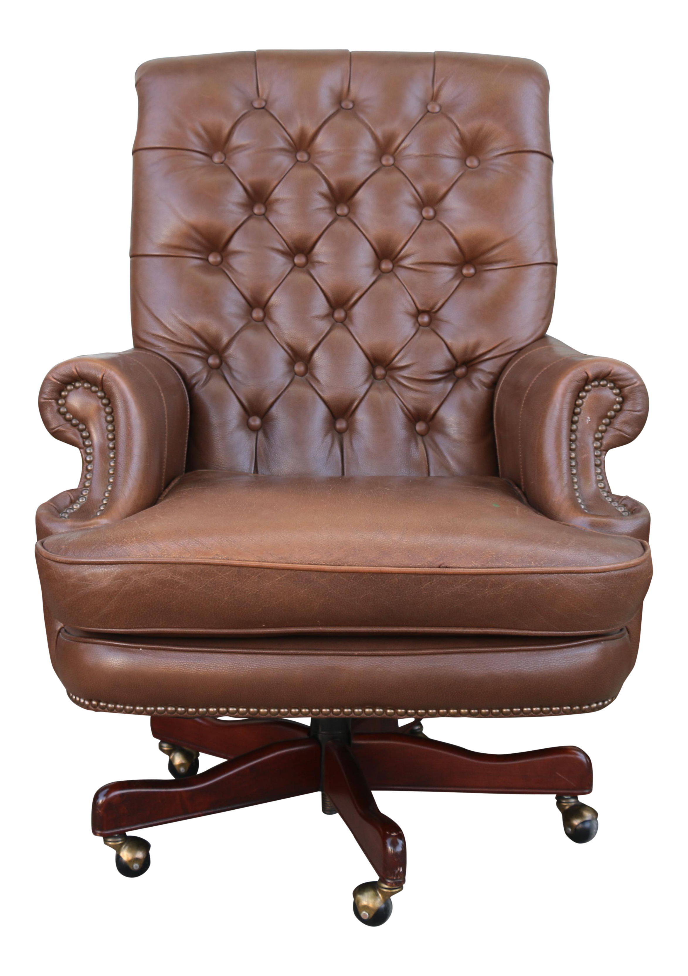 Tremendous Bradington Young Executive Leather Chair Pdpeps Interior Chair Design Pdpepsorg