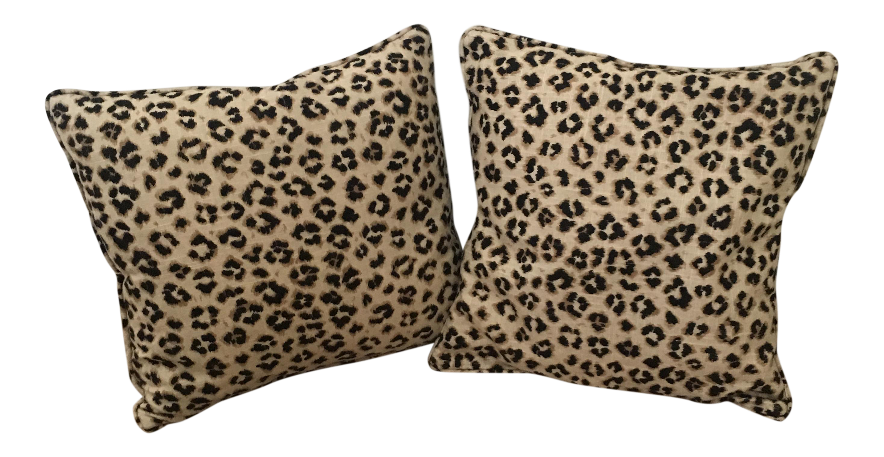 leopard pillow metallic print pillows pin throw cover