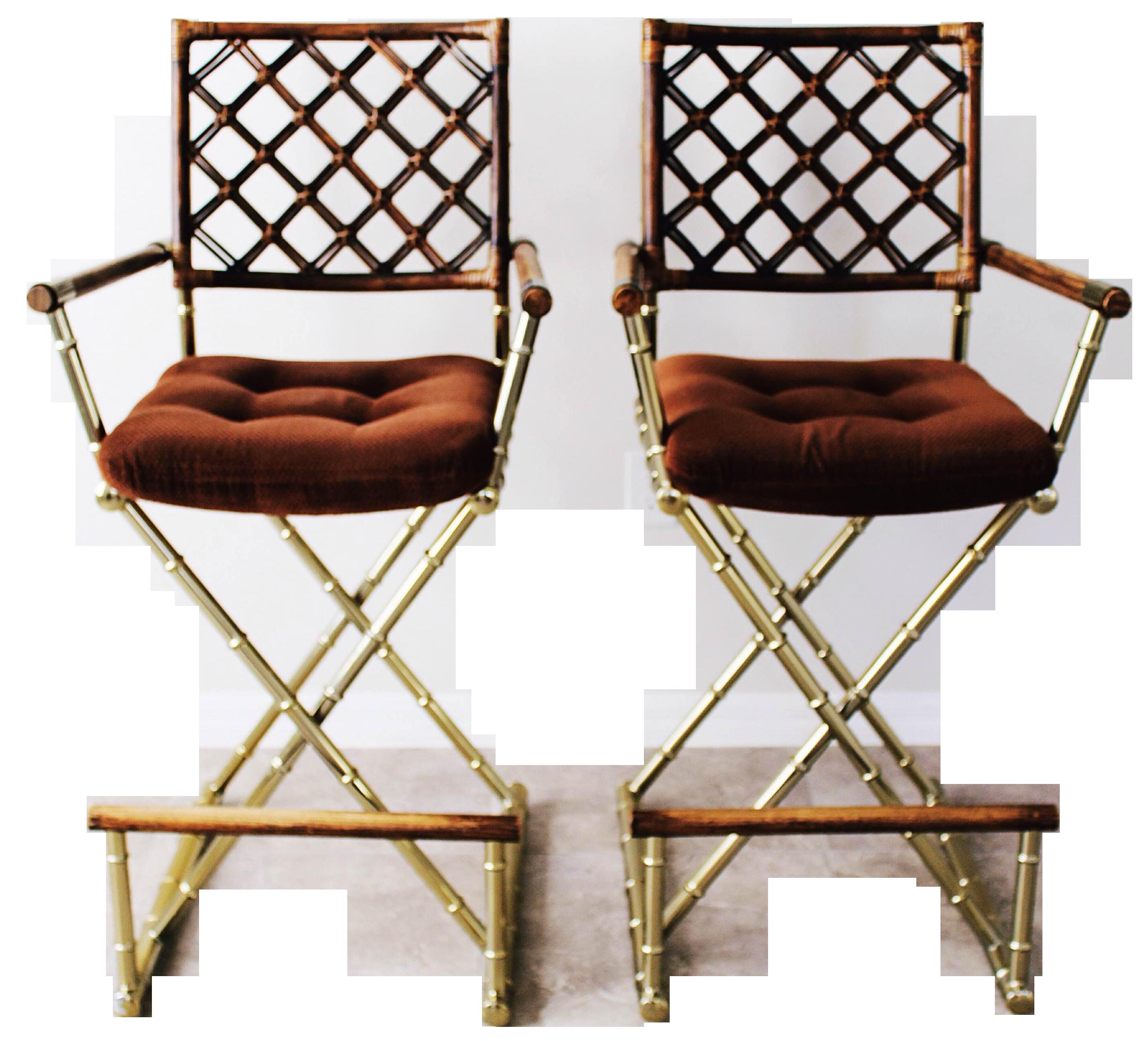 side chair brass vanity designed kimberly leto denman custom dining