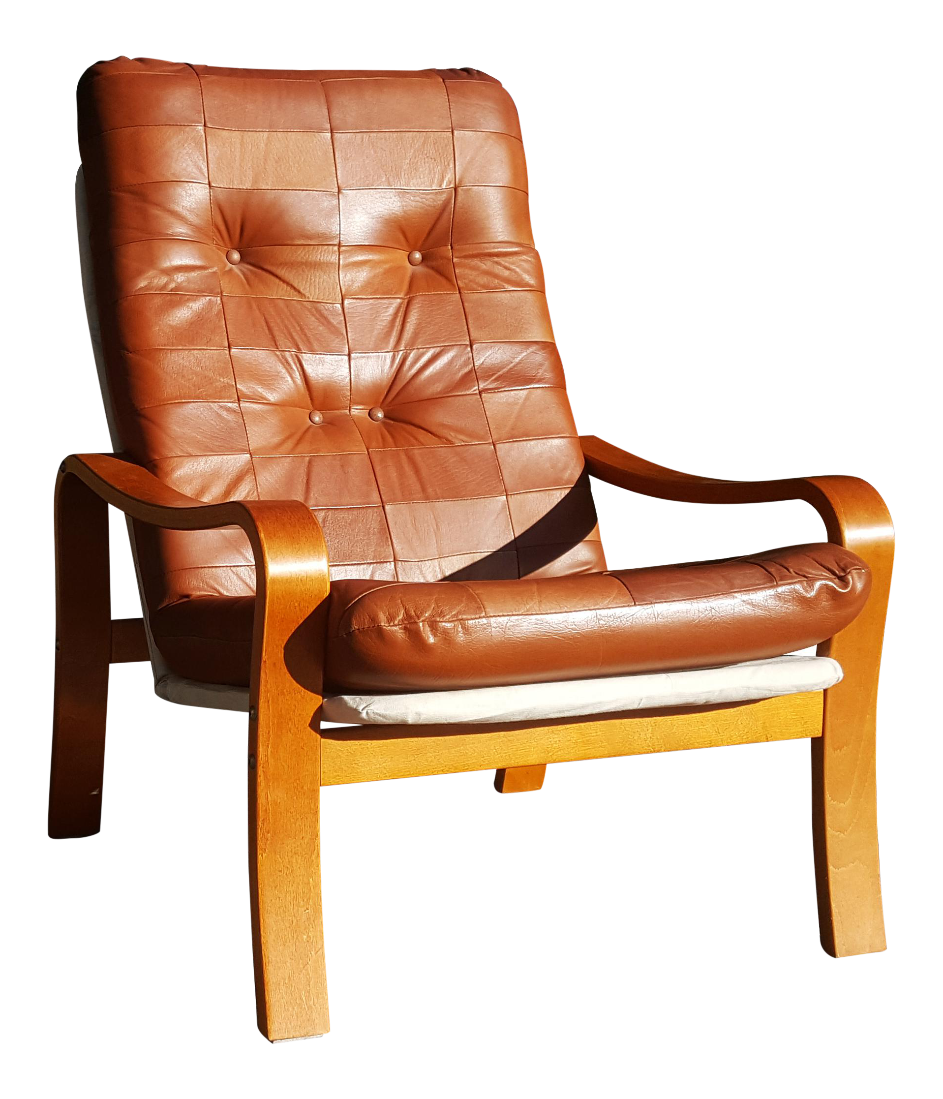 Wondrous Mid Century Modern Swedish Plywood And Leather Patchwork Lounge Chair Andrewgaddart Wooden Chair Designs For Living Room Andrewgaddartcom