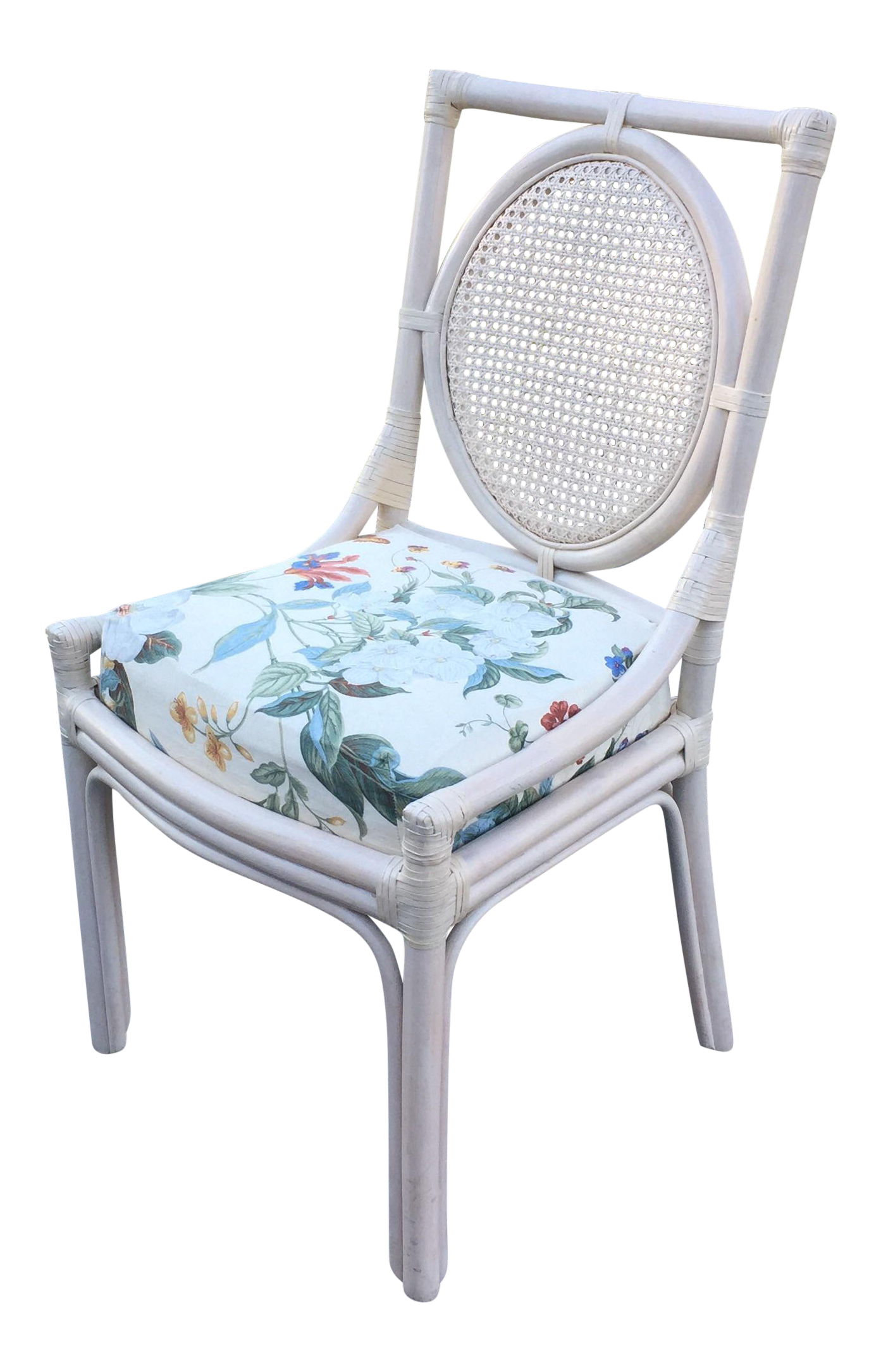 Ficks Reed Cane Desk Chair Chairish