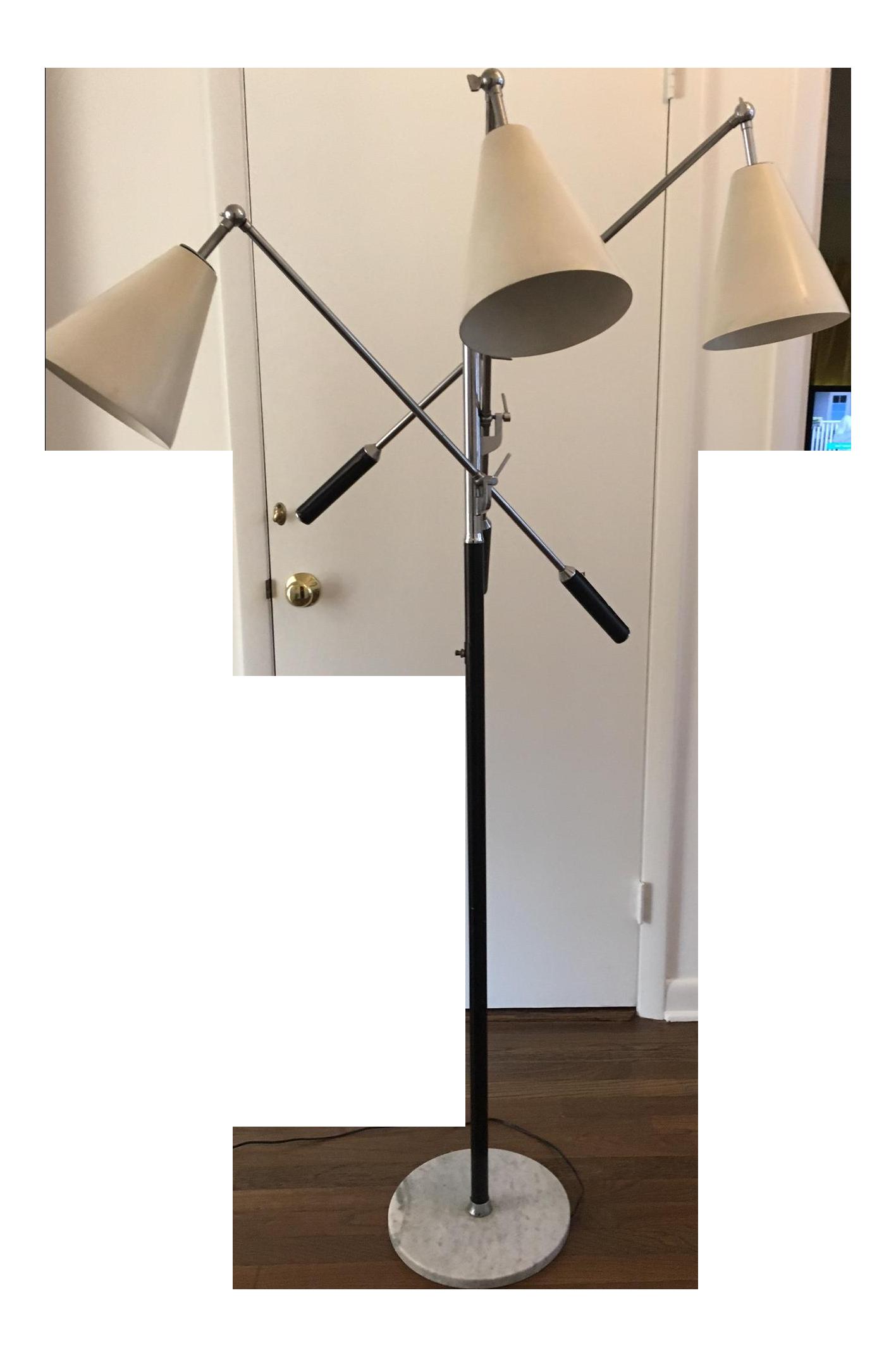 Mid-Century Modern Triennale Floor Lamp by Gino Sarfatti for ...