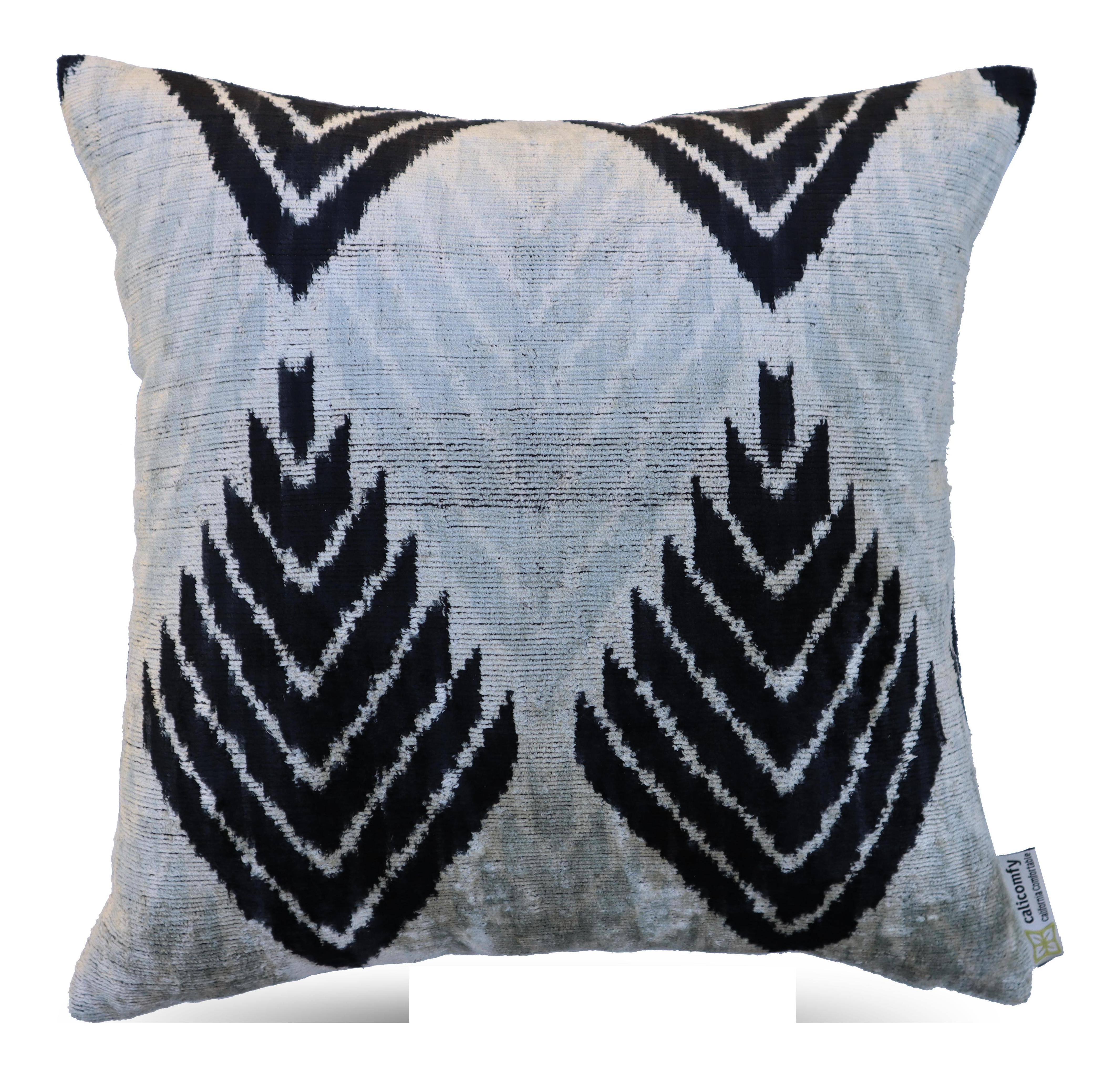 Handmade Silk Throw Pillow Chairish