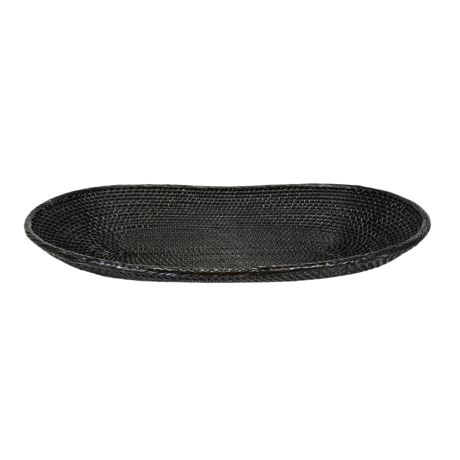 Oval Ebony Plate