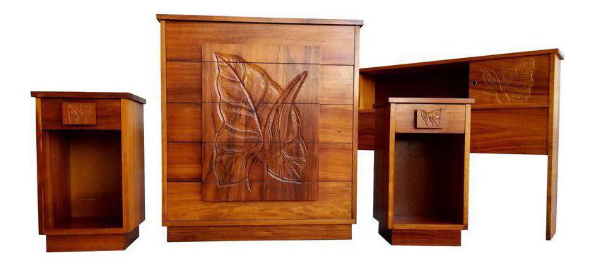 Hawaiian Koa Bedroom Set Chairish