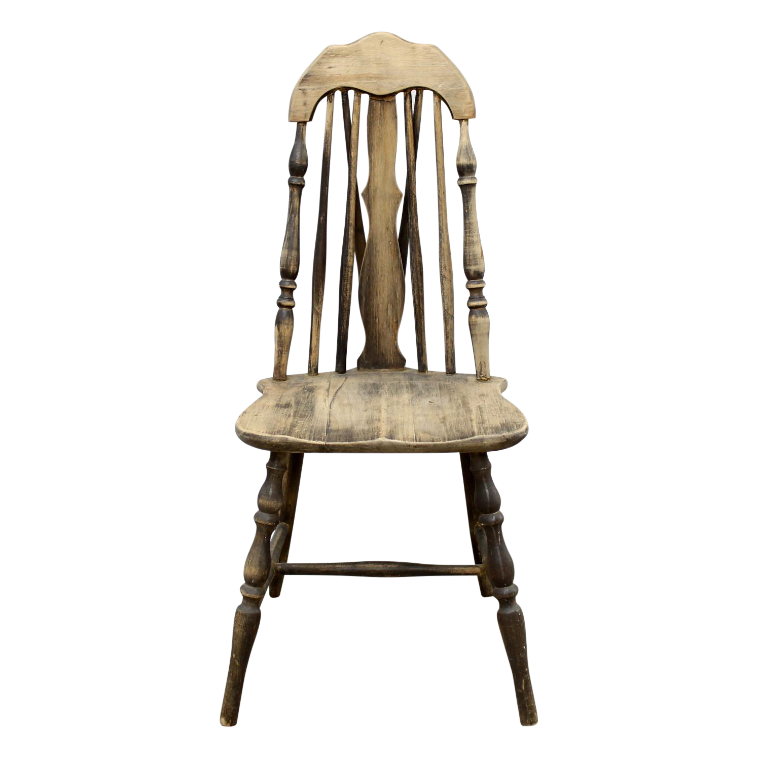 sc 1 st  Chairish & Antique Splat Tapered Back Windsor Chair | Chairish