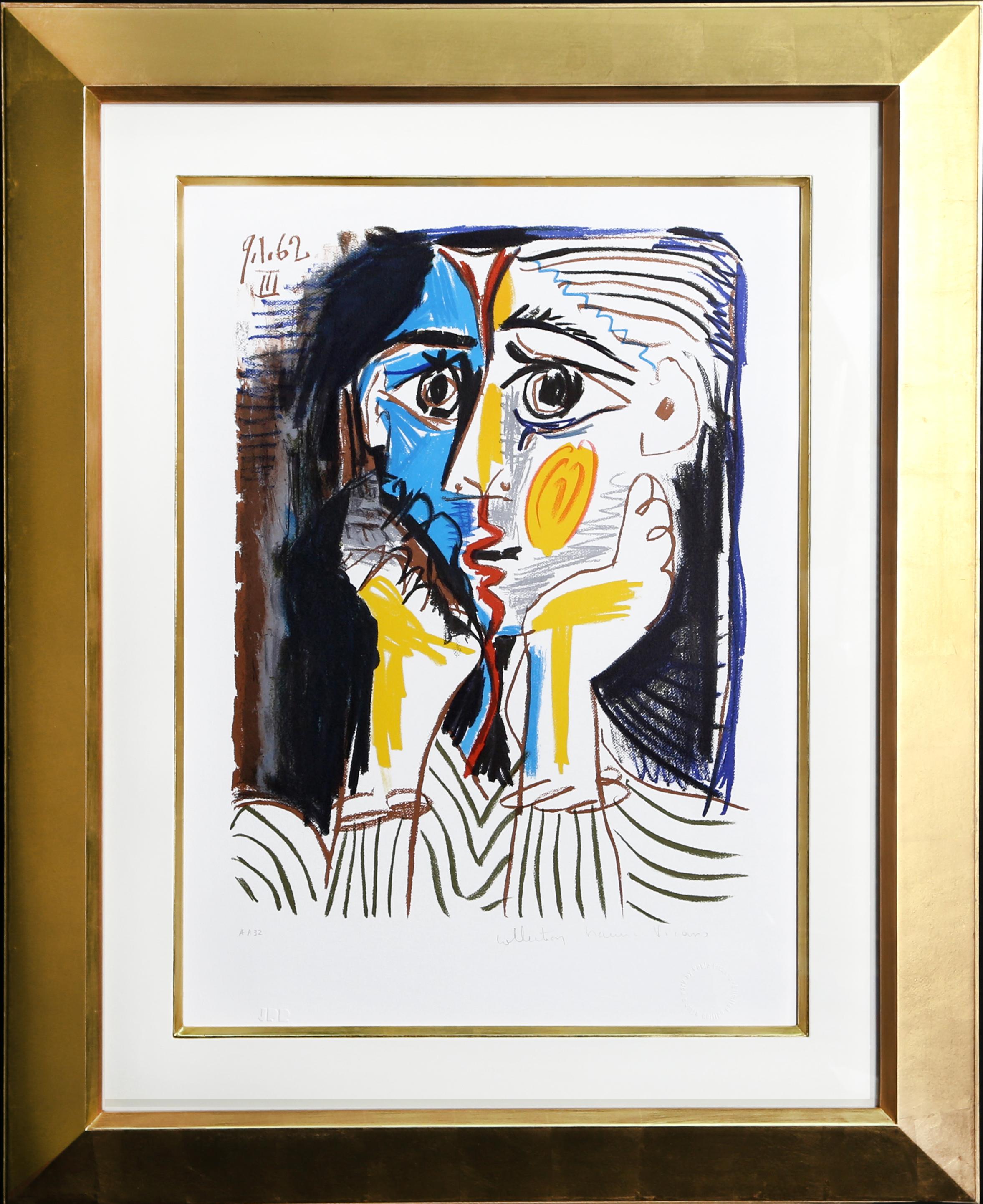 Pablo Picasso Lithograph - Visage
