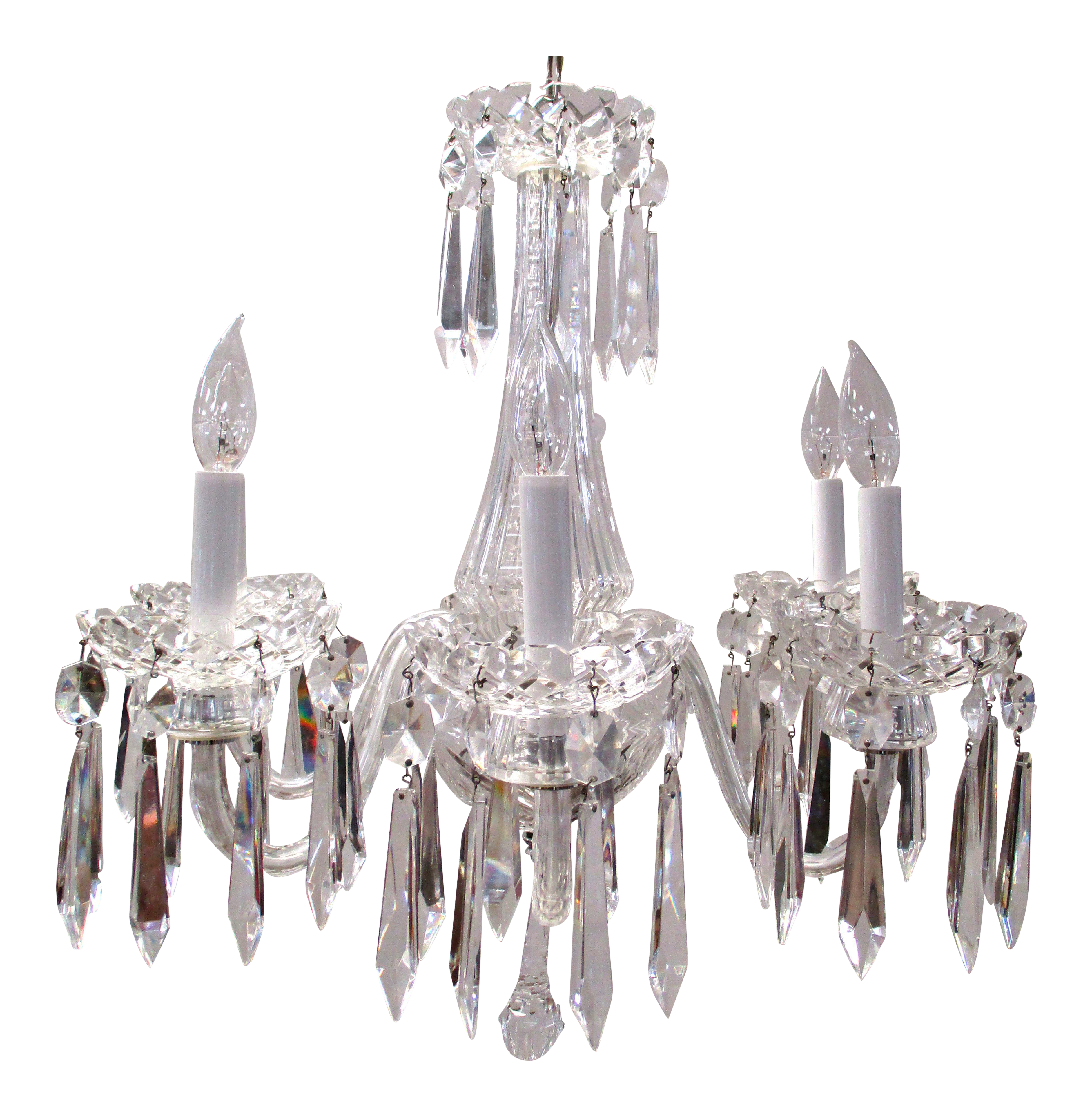 Waterford adare crystal chandelier chairish arubaitofo Image collections