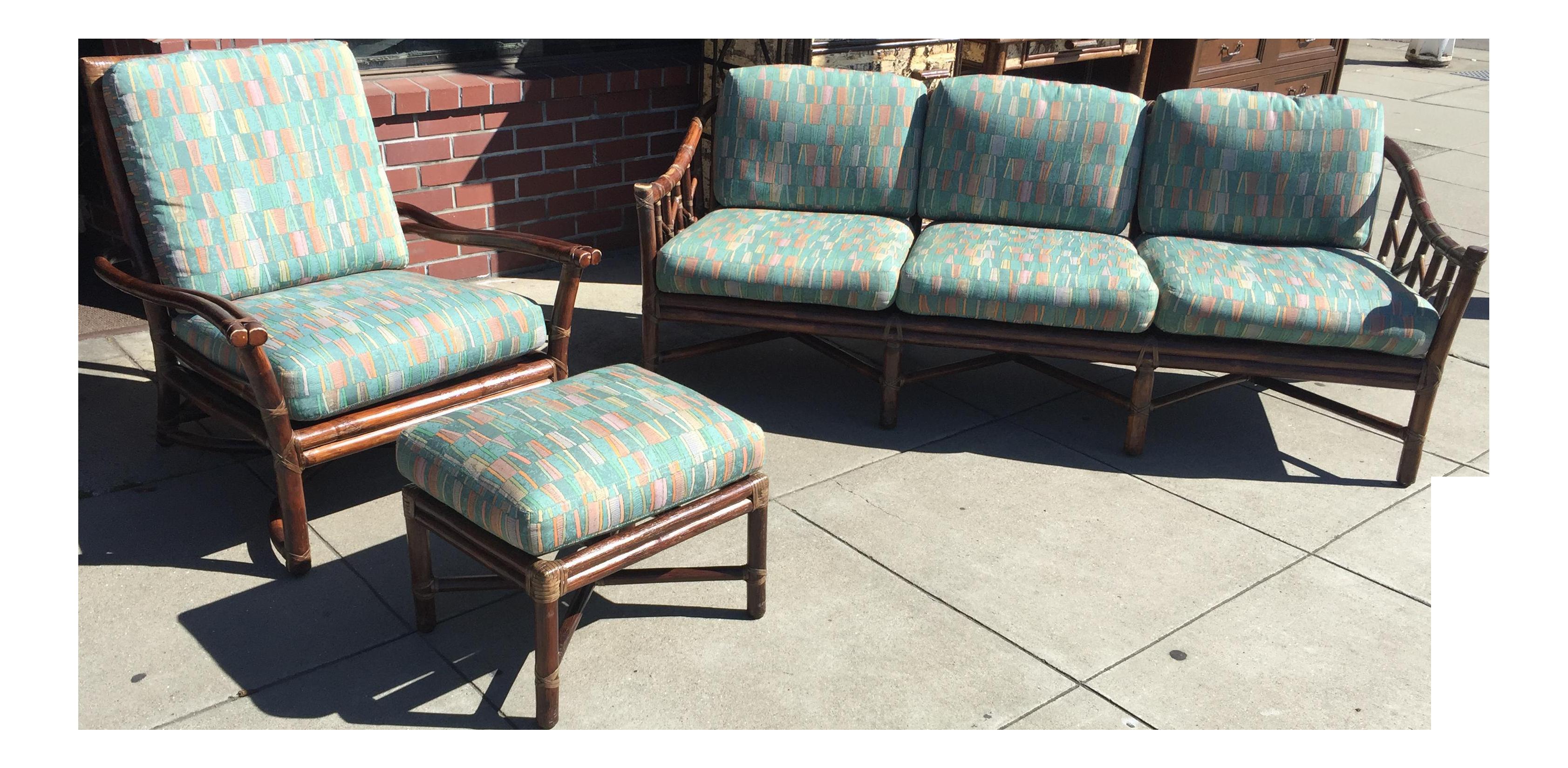 bamboo nongzi wooden contemporary co loveseat w wood dorotea sofa style modern