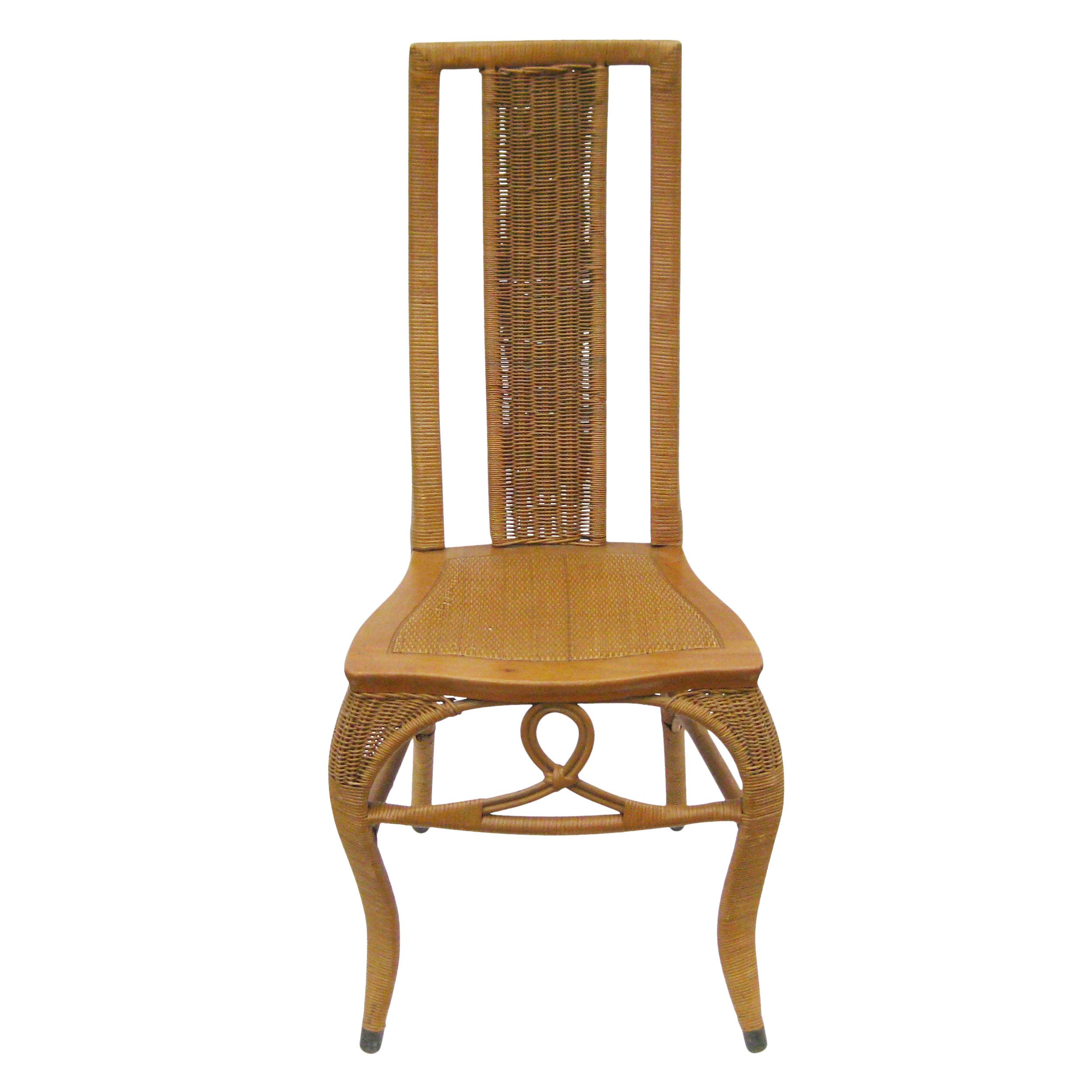 Surprising Vintage Heywood Brothers Wakefield Company Wood And Cane Wicker Rattan Dining Chair Ocoug Best Dining Table And Chair Ideas Images Ocougorg