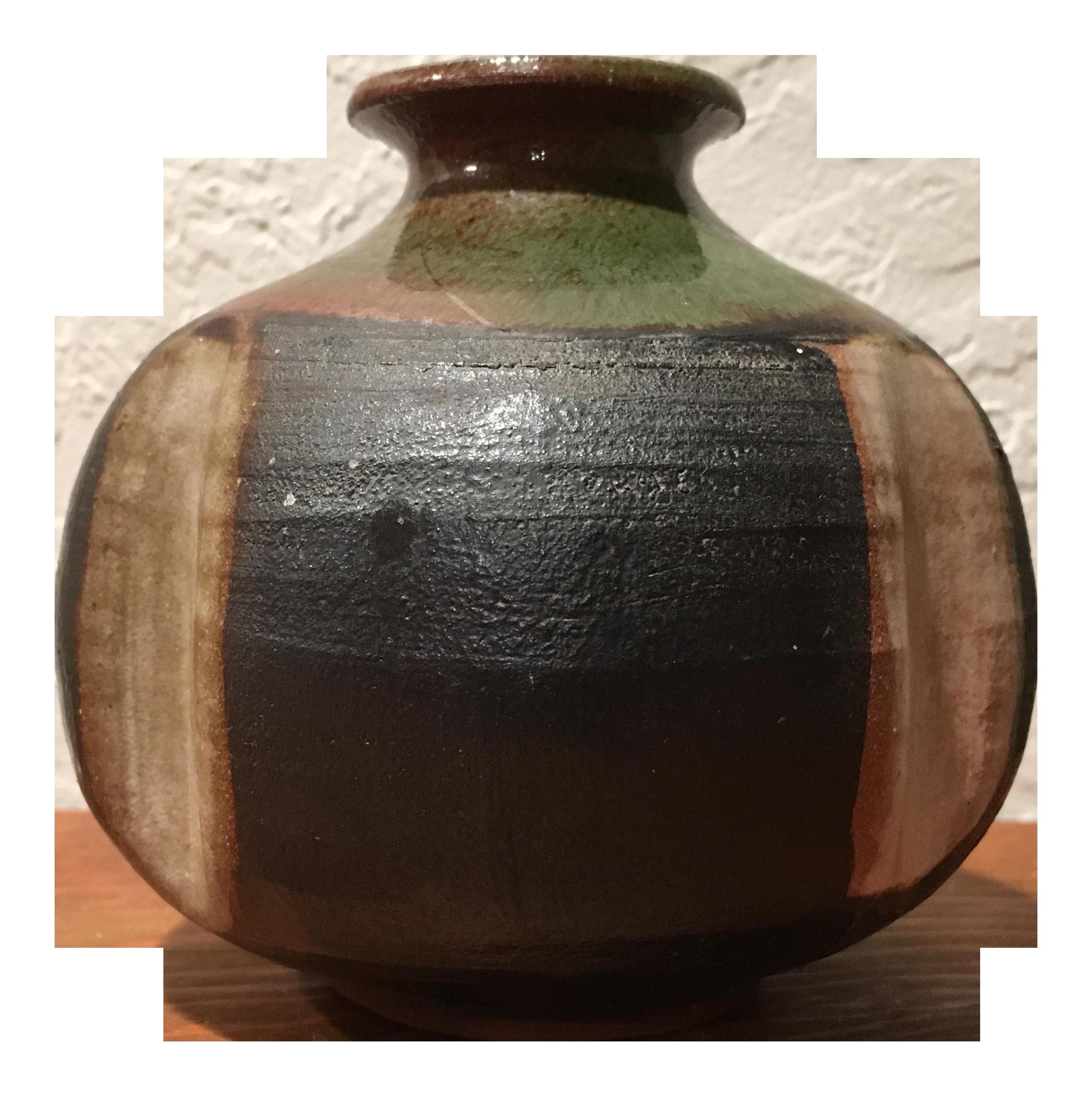 Mid Century Modern Pottery Vase Chairish