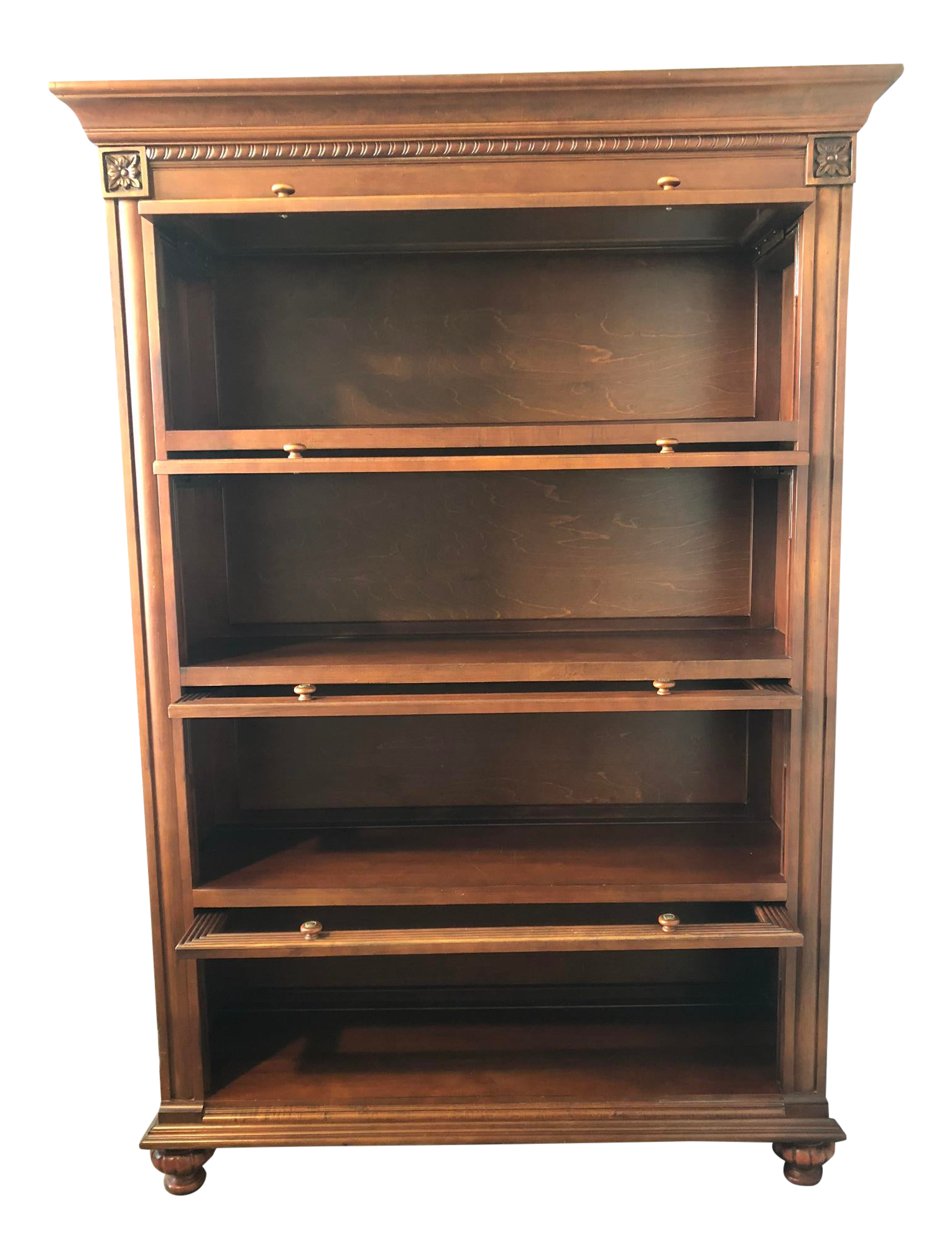 Traditional Ethan Allen Barrister Bookcase