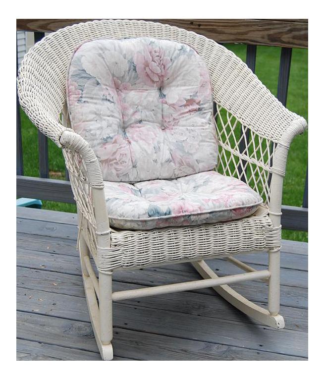 - Antique Wicker Rocking Chair Chairish