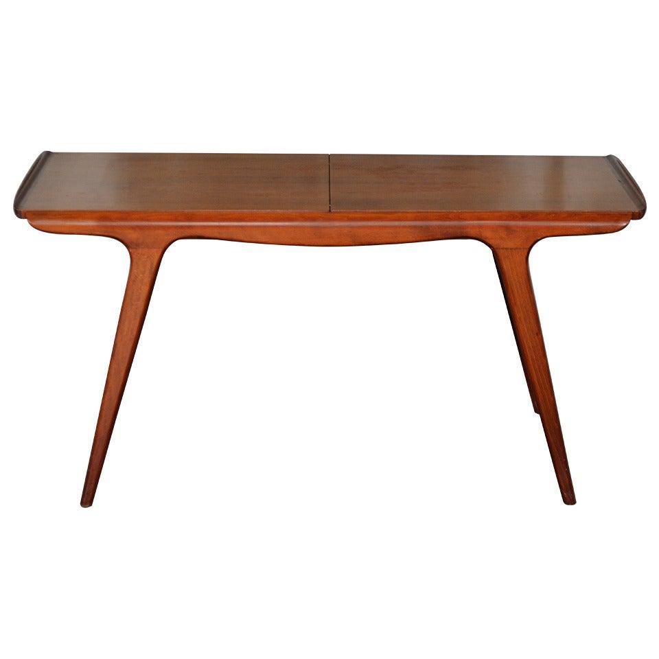 - Danish Mid Century Aerodynamic Expanding Coffee Table Chairish