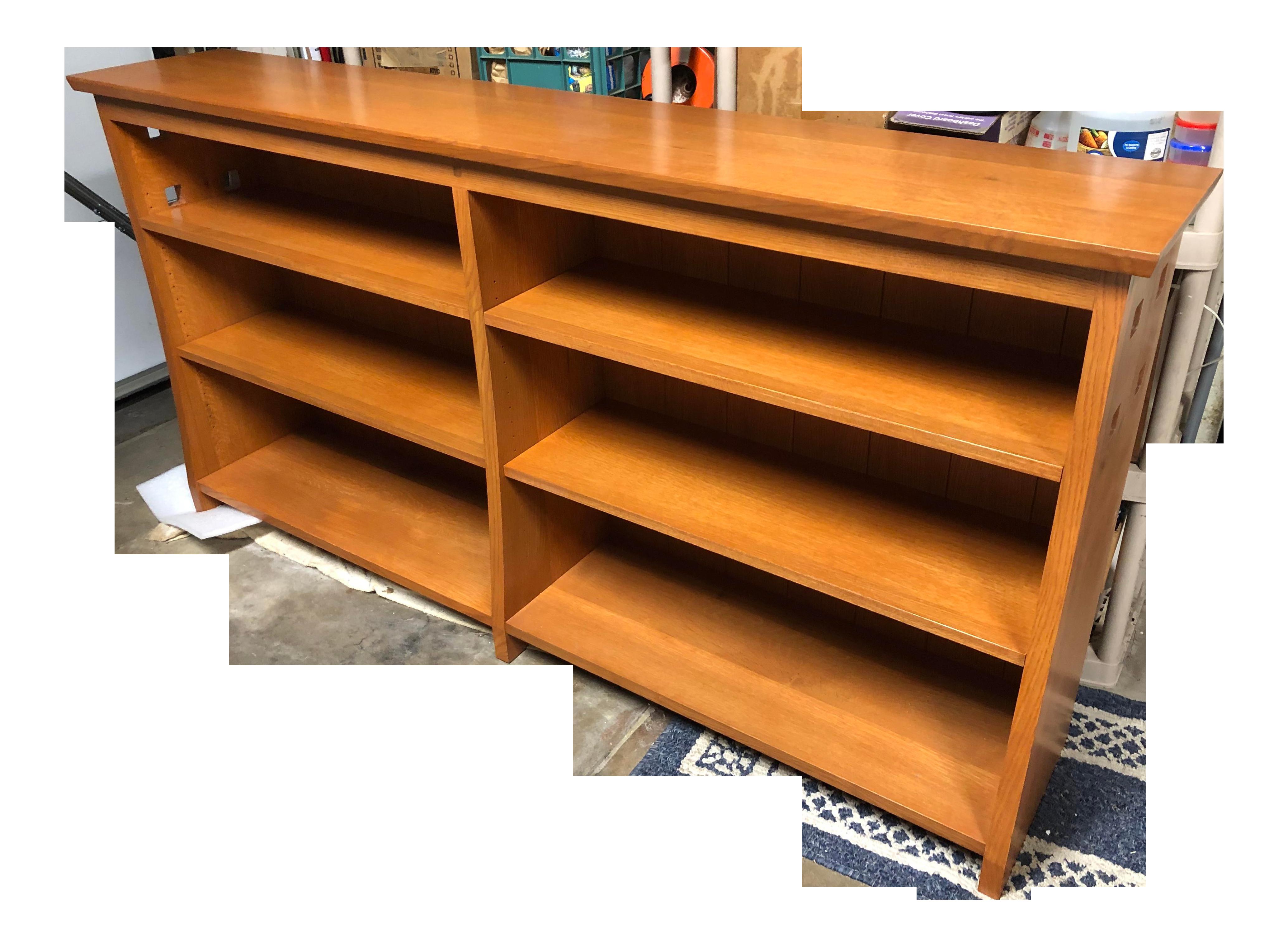 Vintage Mission Style Bookcase
