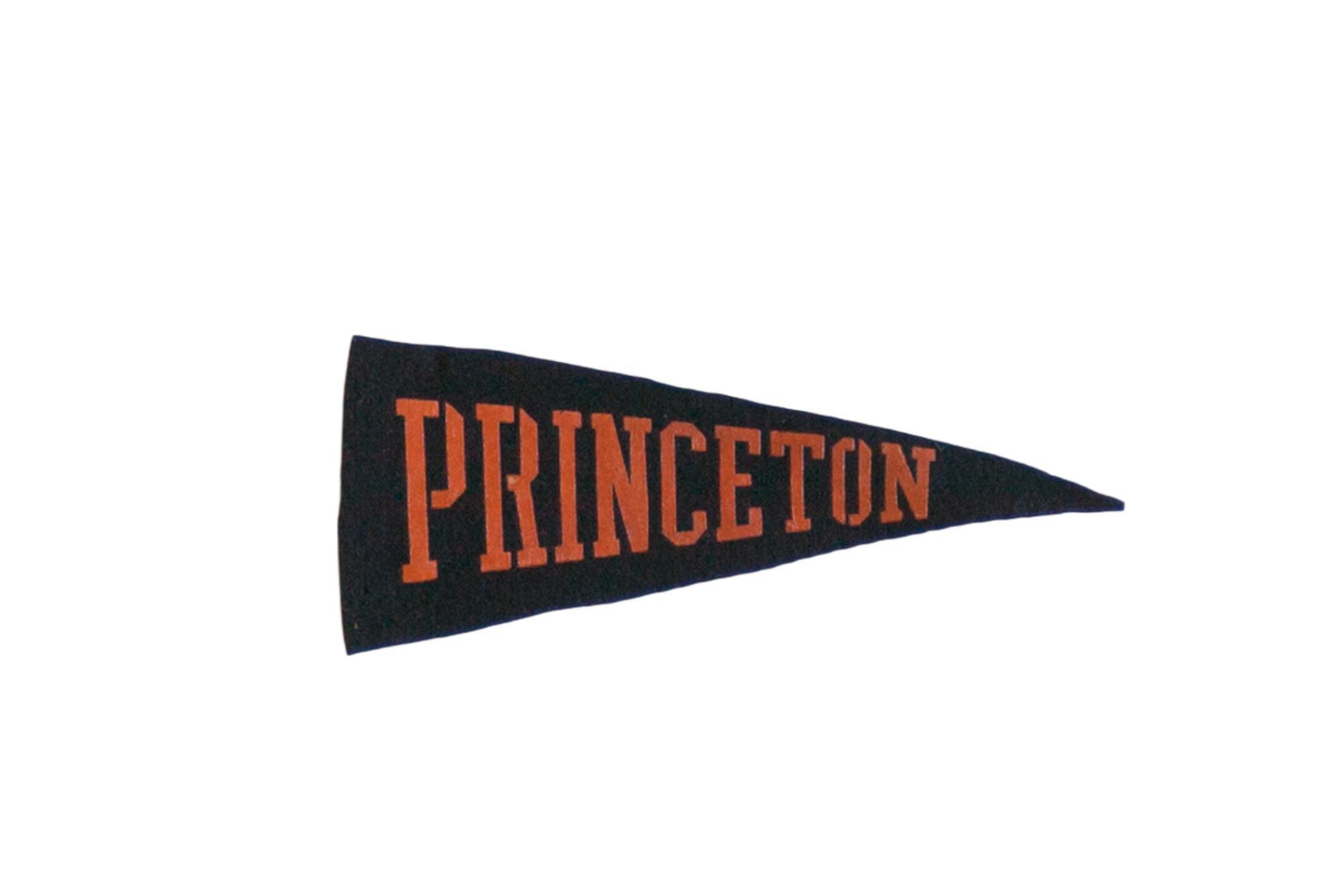 Mini Vintage Princeton Felt Flag Pennant Chairish