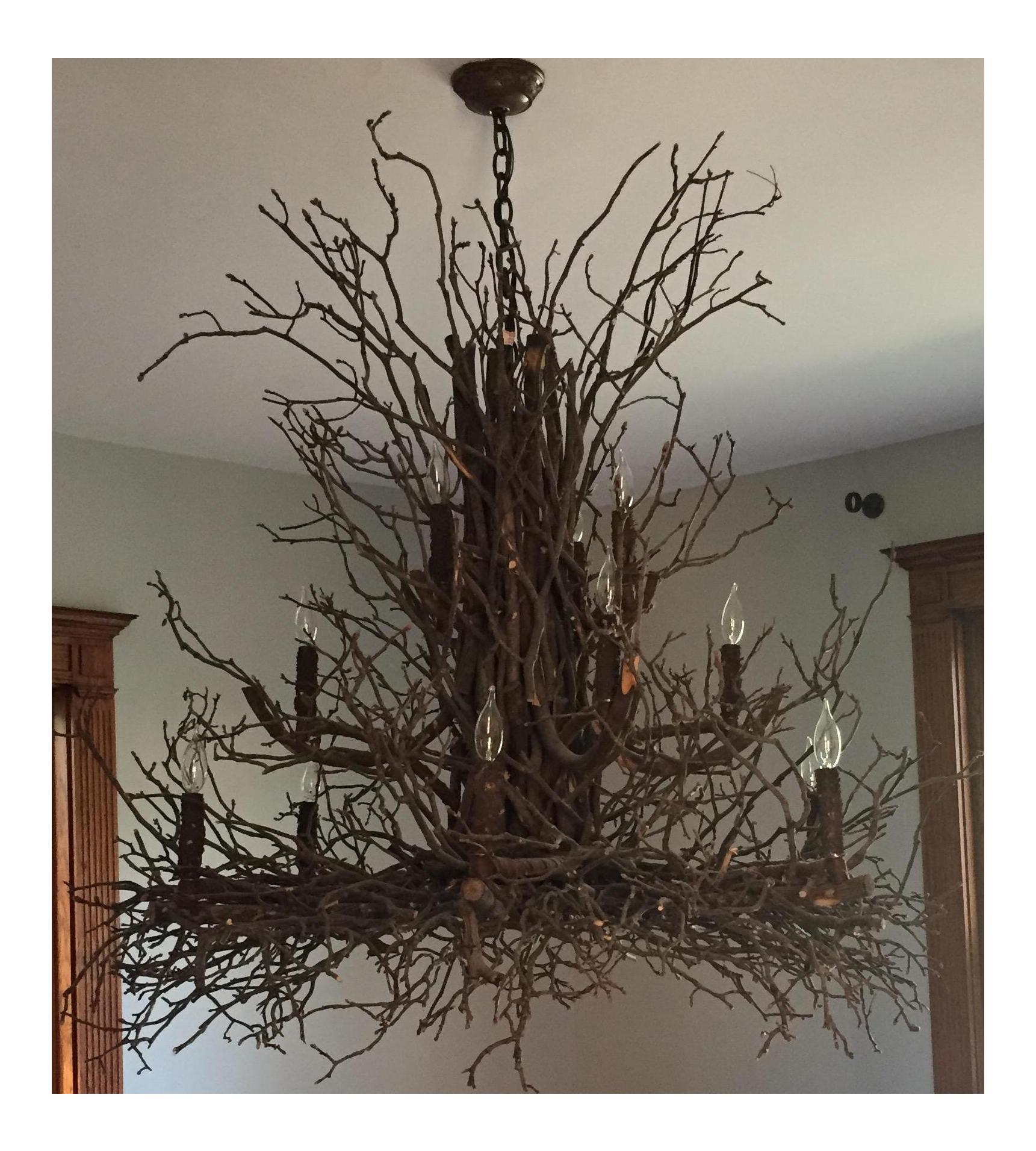 Willow Branch Chandelier