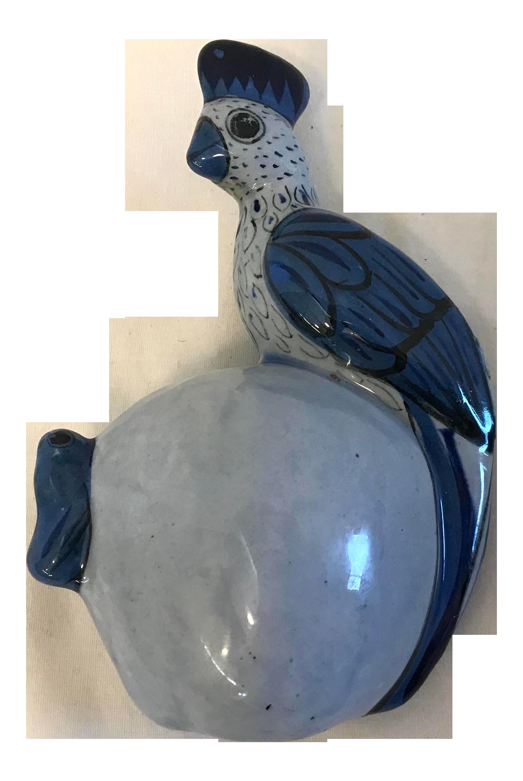 Vintage Bird Mexican Pottery