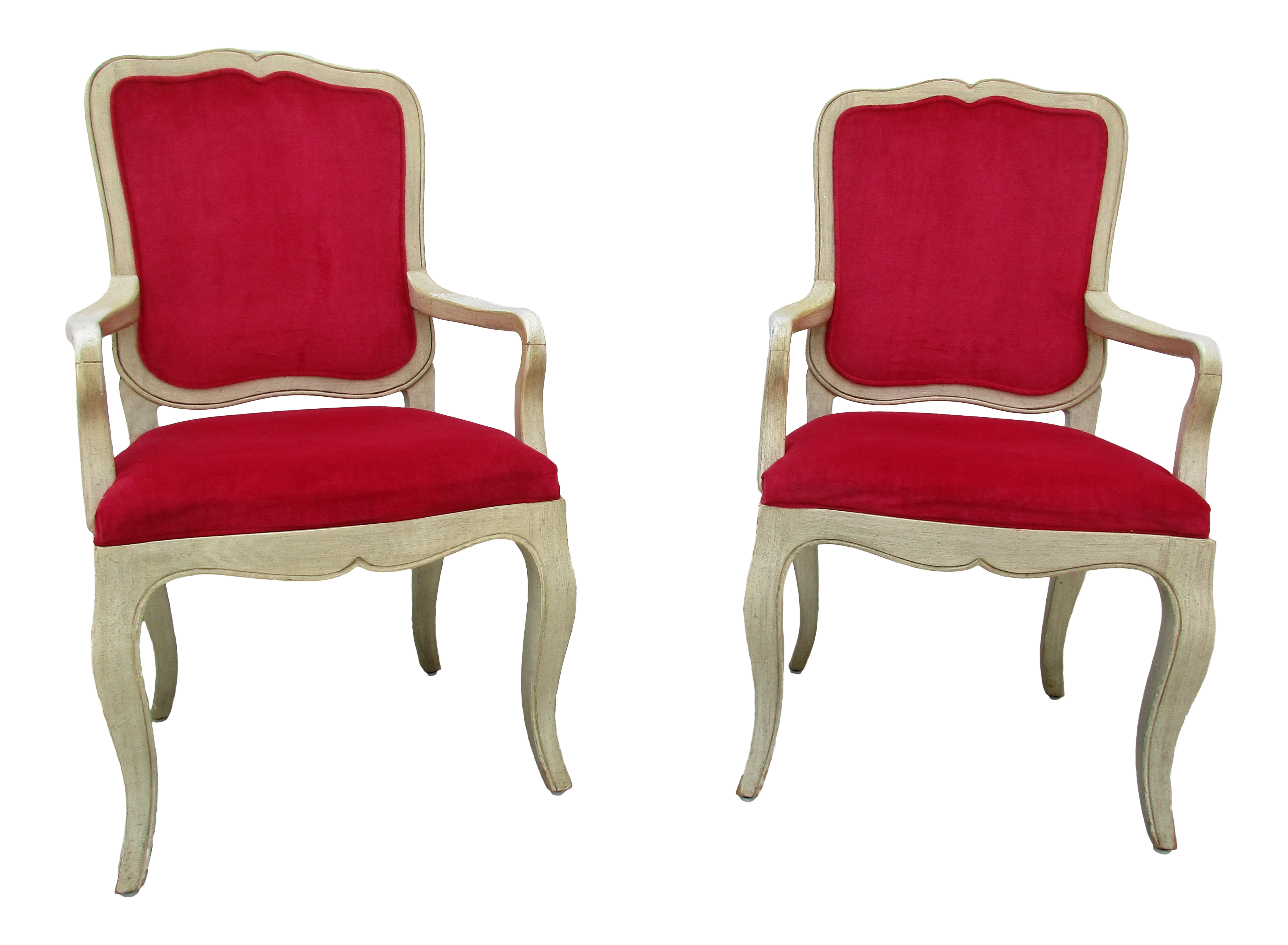 Enjoyable 20Th Century French Provincial Baker Side Or Dining Chairs A Pair Evergreenethics Interior Chair Design Evergreenethicsorg