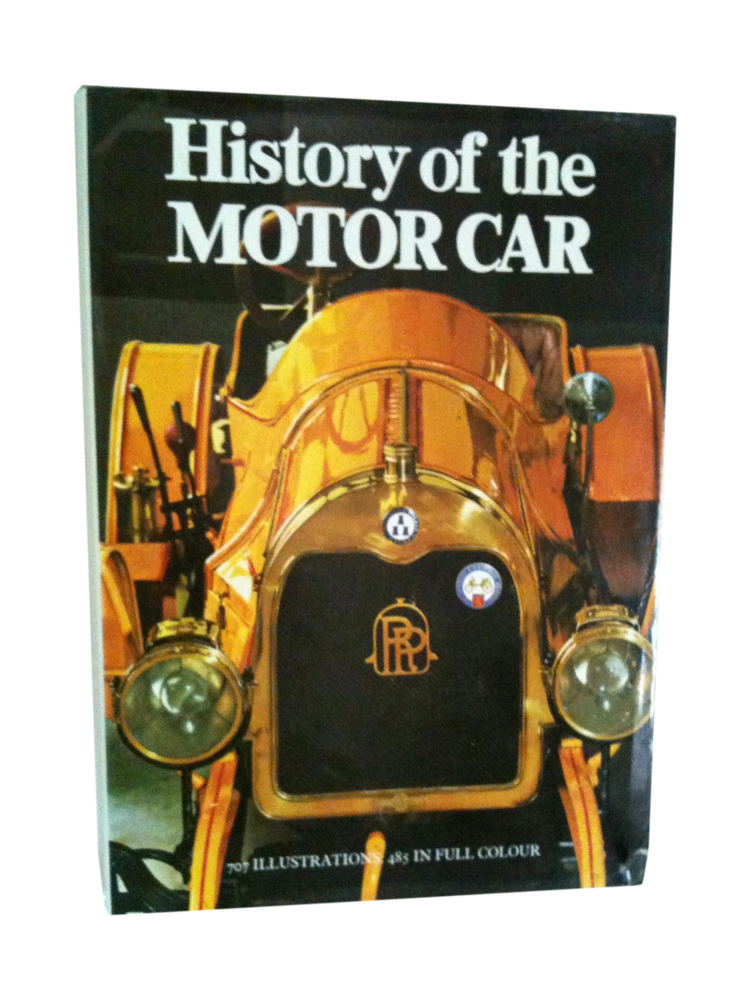 History of the Motor Car Vintage Book | Chairish