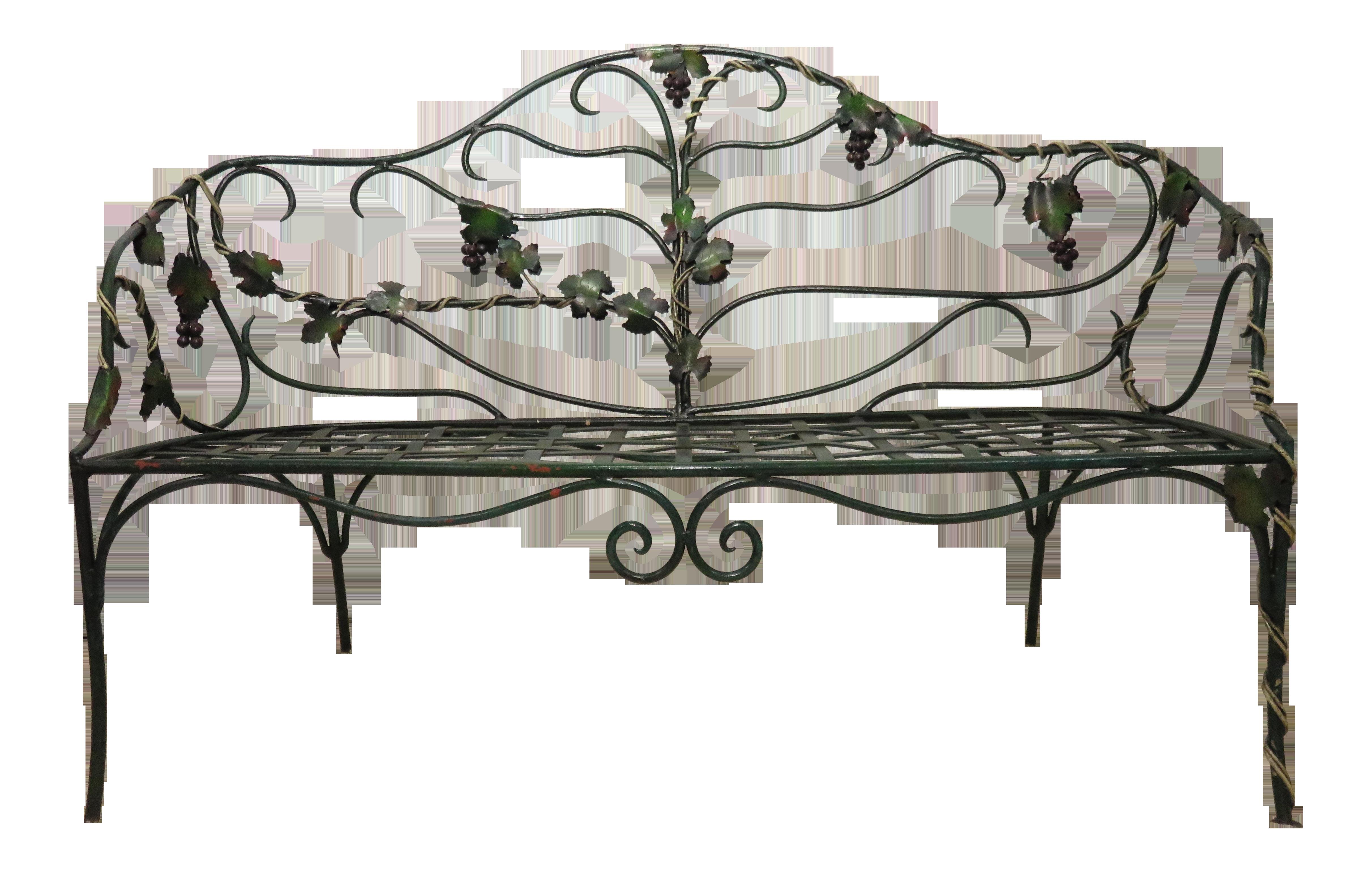 wrought youtube broken how cast repar watch garden rebuild i wood bench iron a