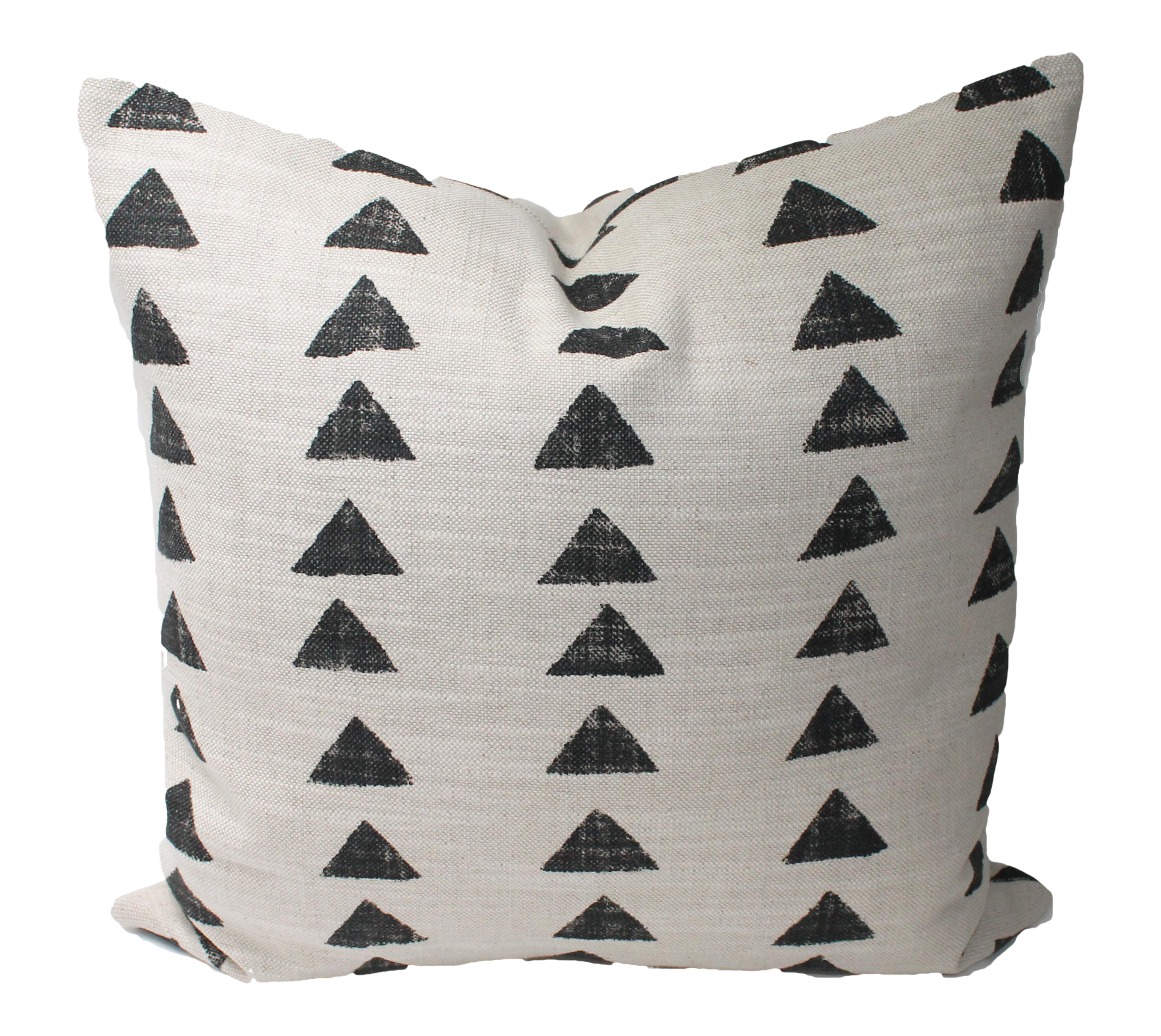 Boho Chic Black And Cream Decorative Pillow Cover 20x20 Chairish