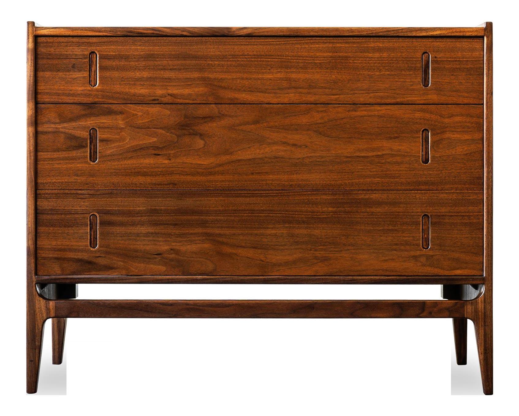 Walnut Dresser Richard Thompson for Glenn of California Mid Century Modern Dresser