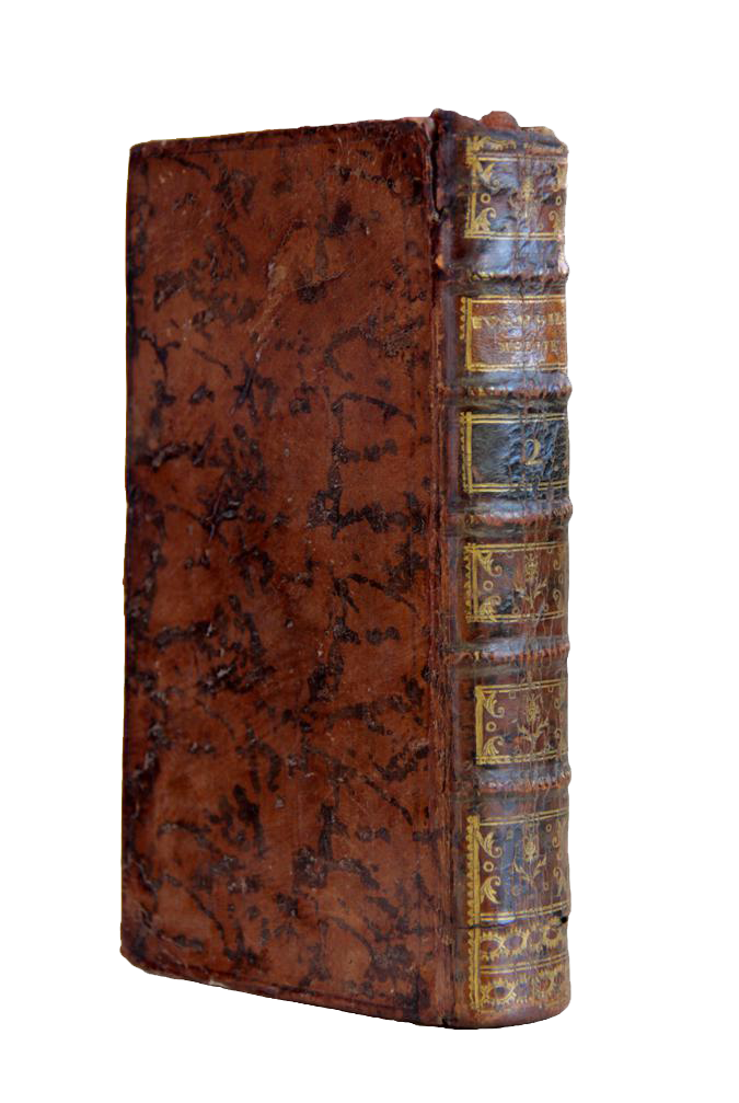 18th Century French Leather Bound Book Chairish