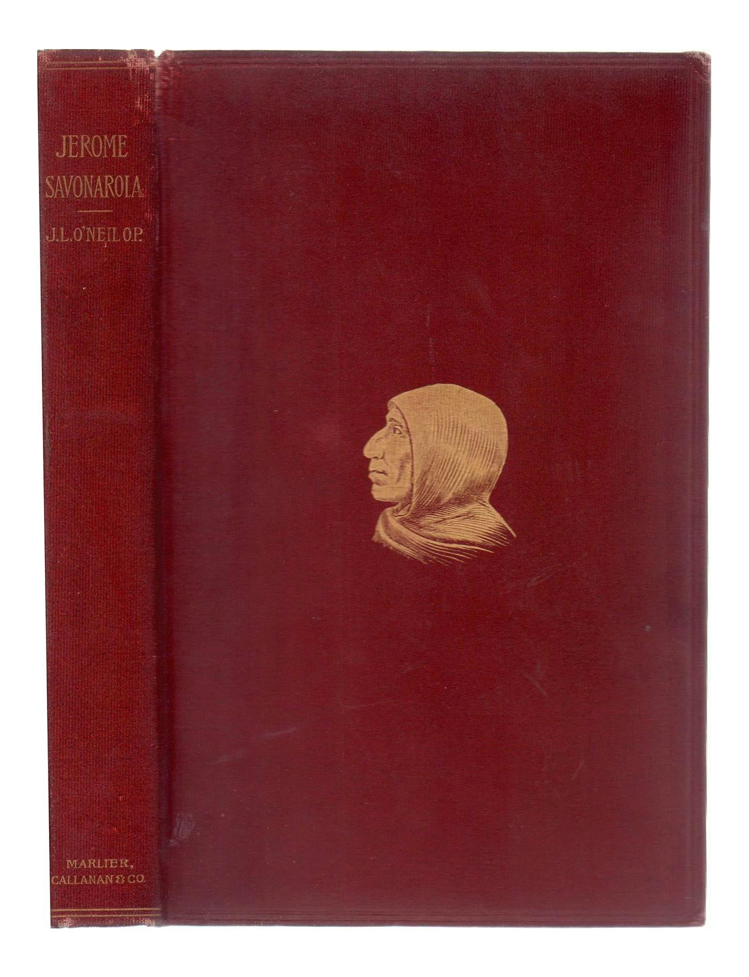 Late 19th Century Jerome Savonarola A Sketch Book Chairish