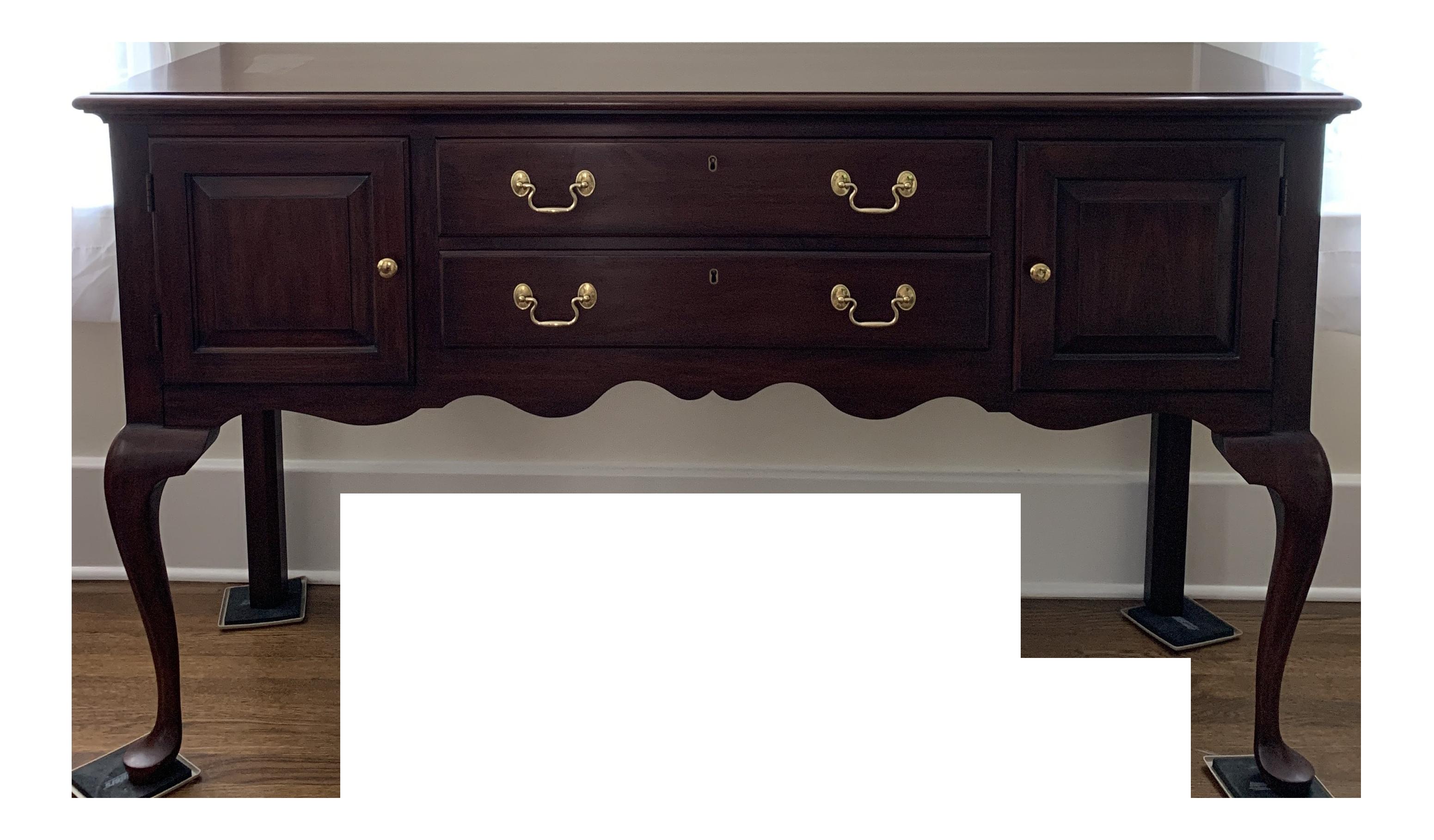 Dark Cherry Wood Credenza : Cherry antique furniture ebay