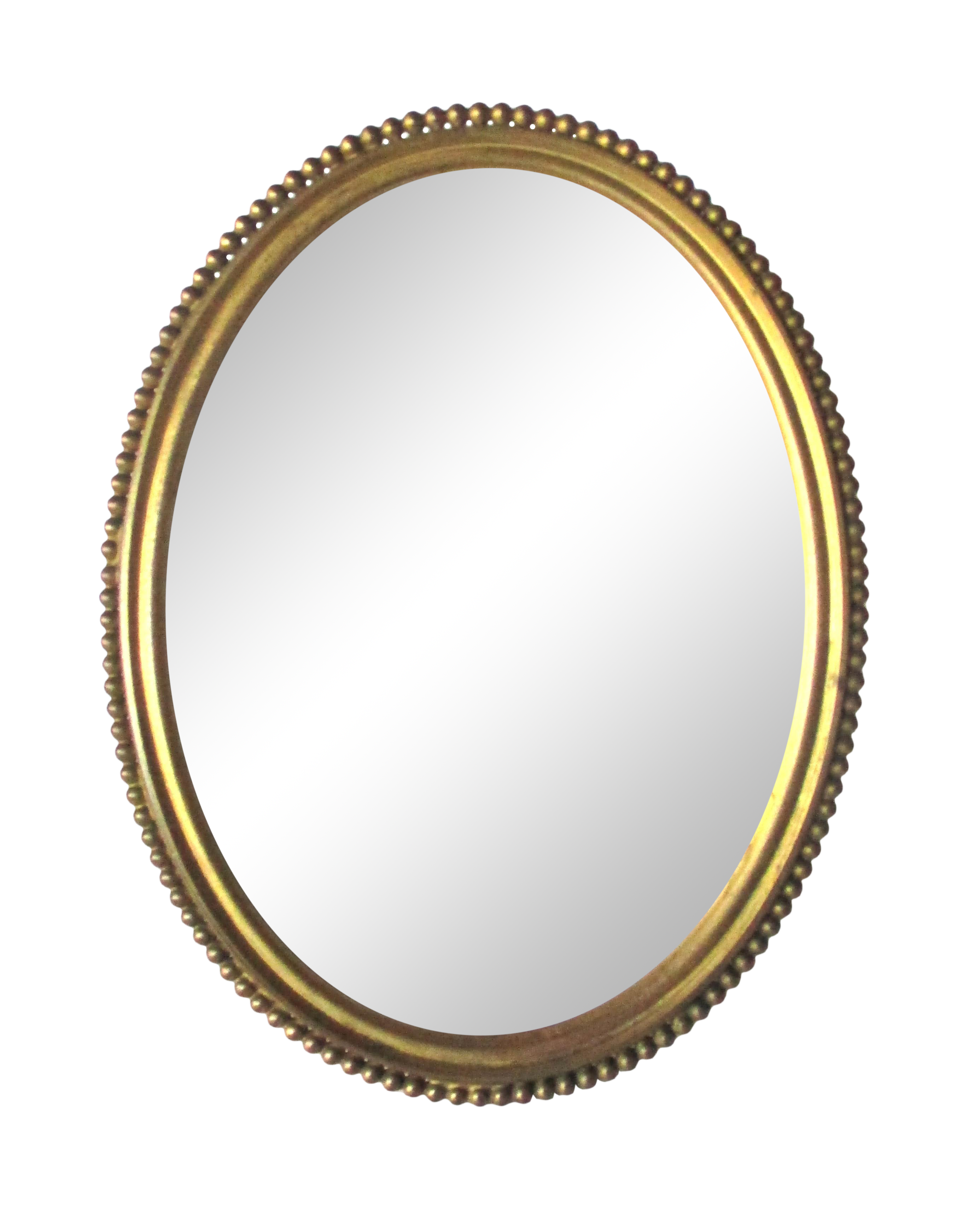 Victorian Oval Brass Picture Frame Chairish