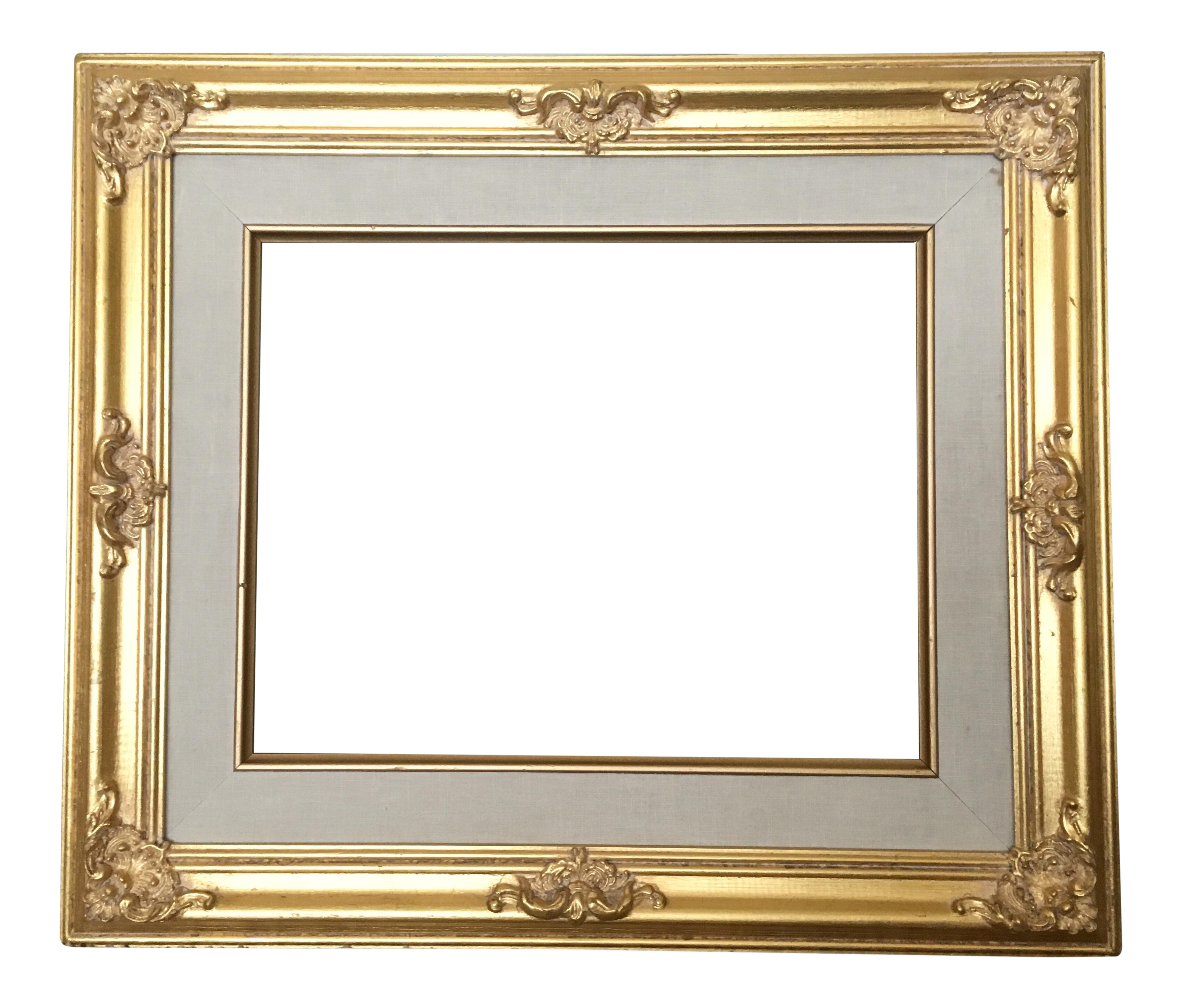 French Gold Baroque Frame | Chairish