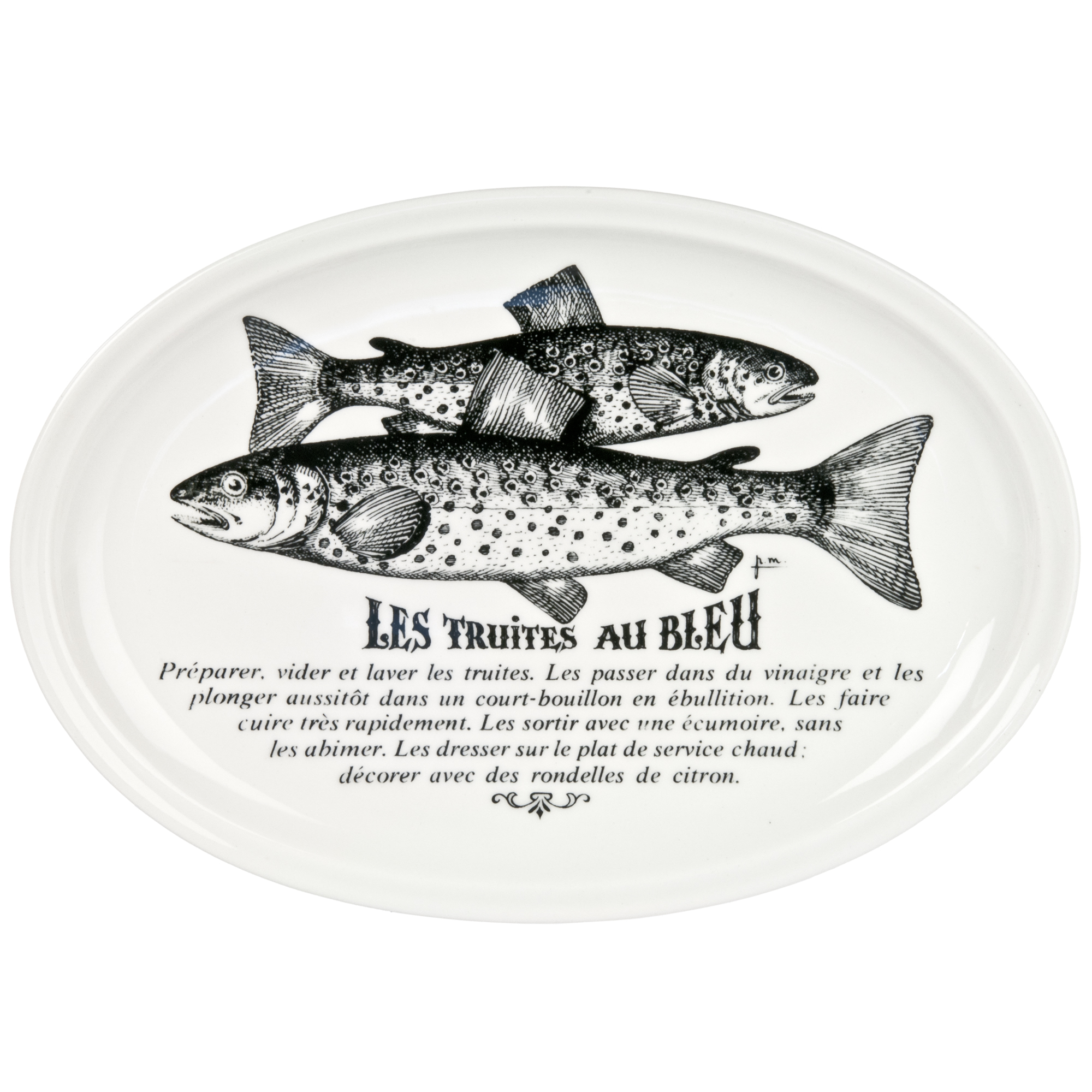 sc 1 st  Chairish & Vintage French Gien Porcelain Fish Plate | Chairish