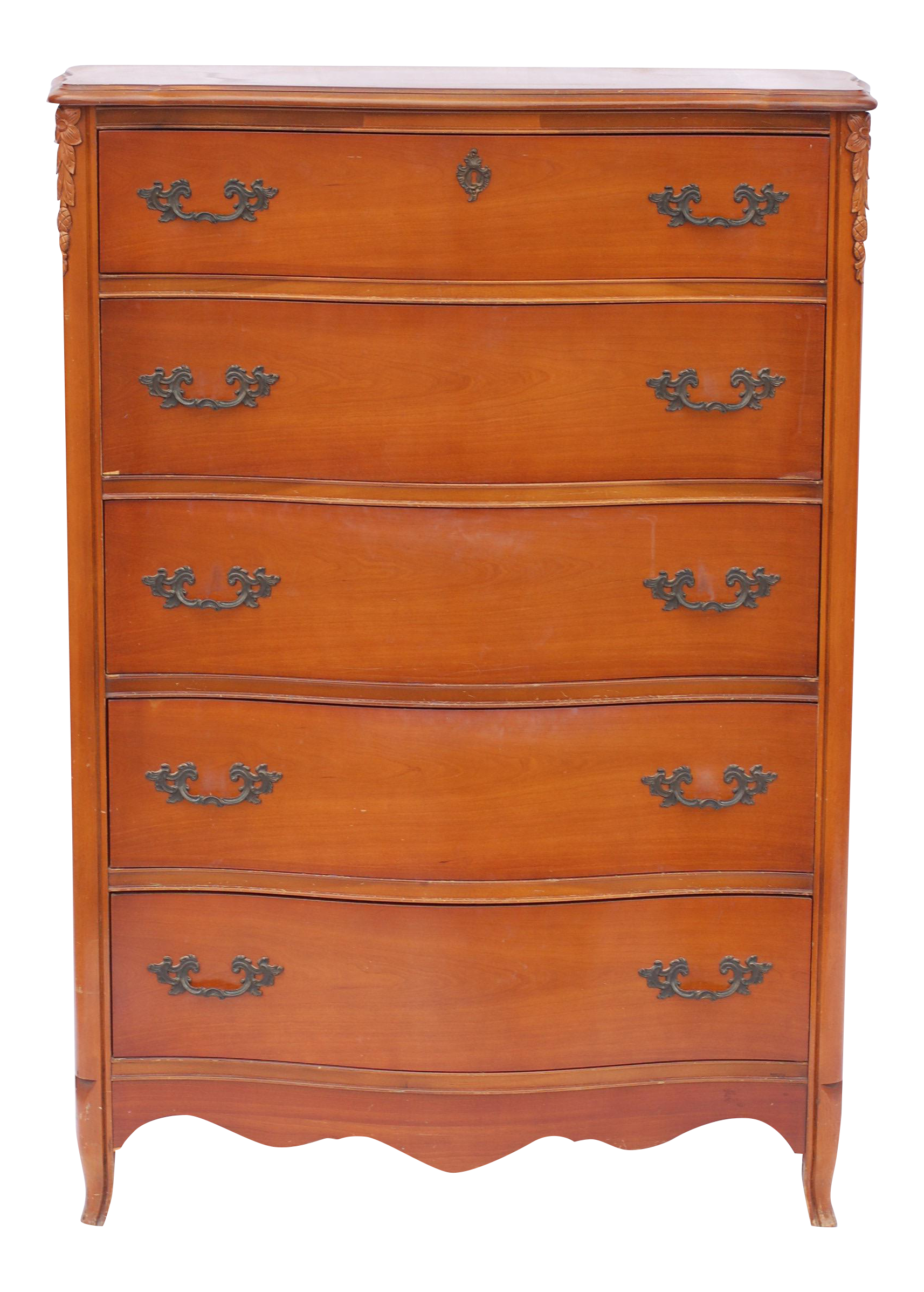 Bassett furniture antique french provincial dresser chairish