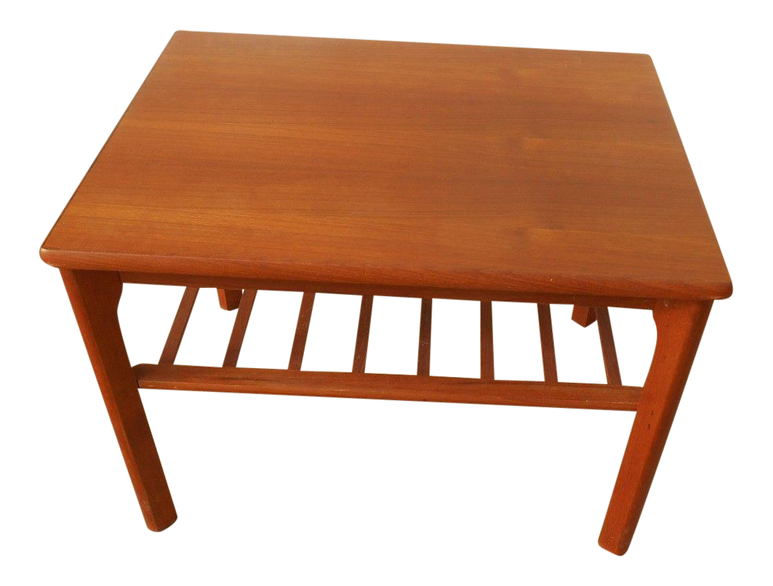 Mobelfabrikken Toften Mid Century Danish Modern Teak End Table Chairish