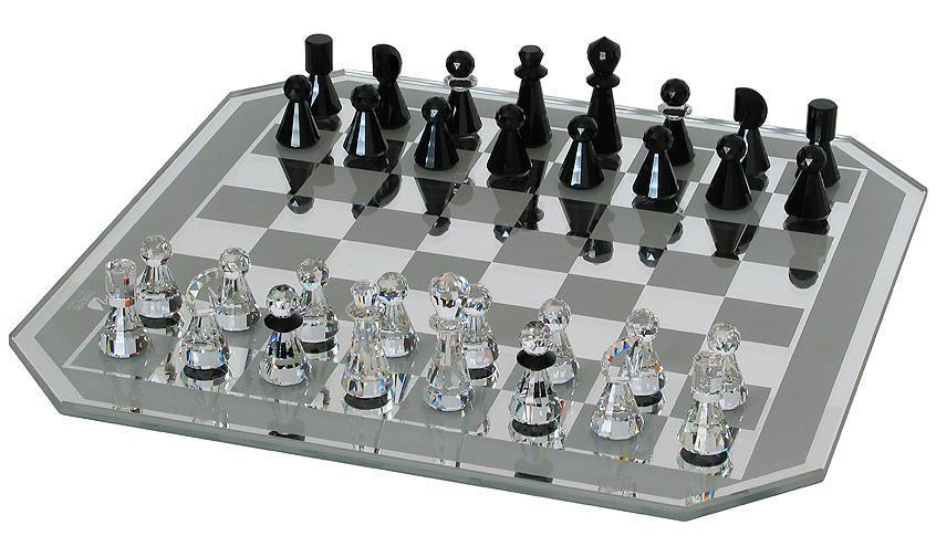 Swarovski Crystal Chess Set Chairish