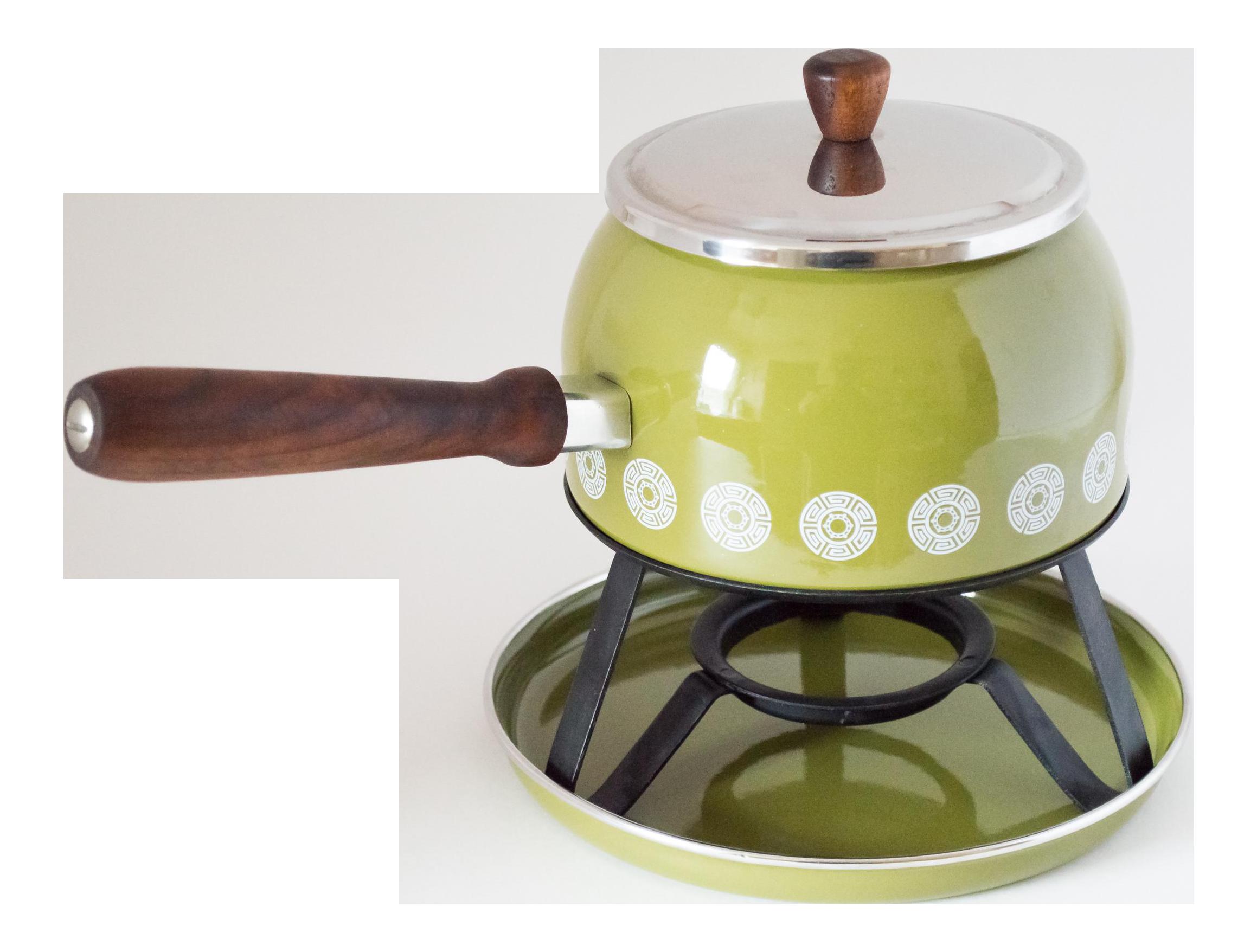 1960s Rostfrei Epicure Fondue Pot