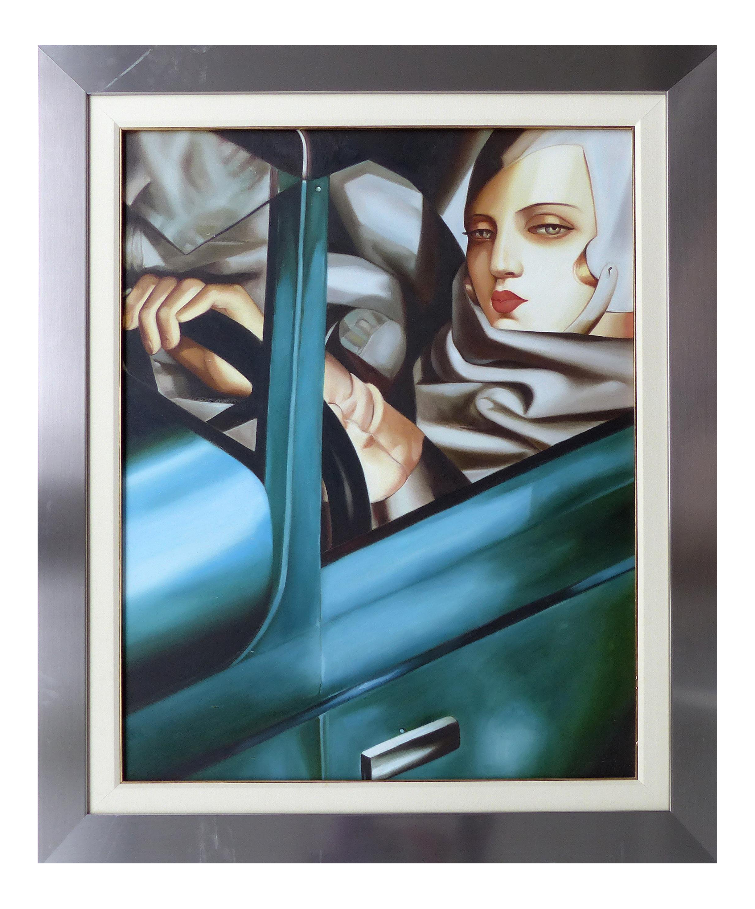 luxury self portrait with green bugattitamara de lempicka | decaso