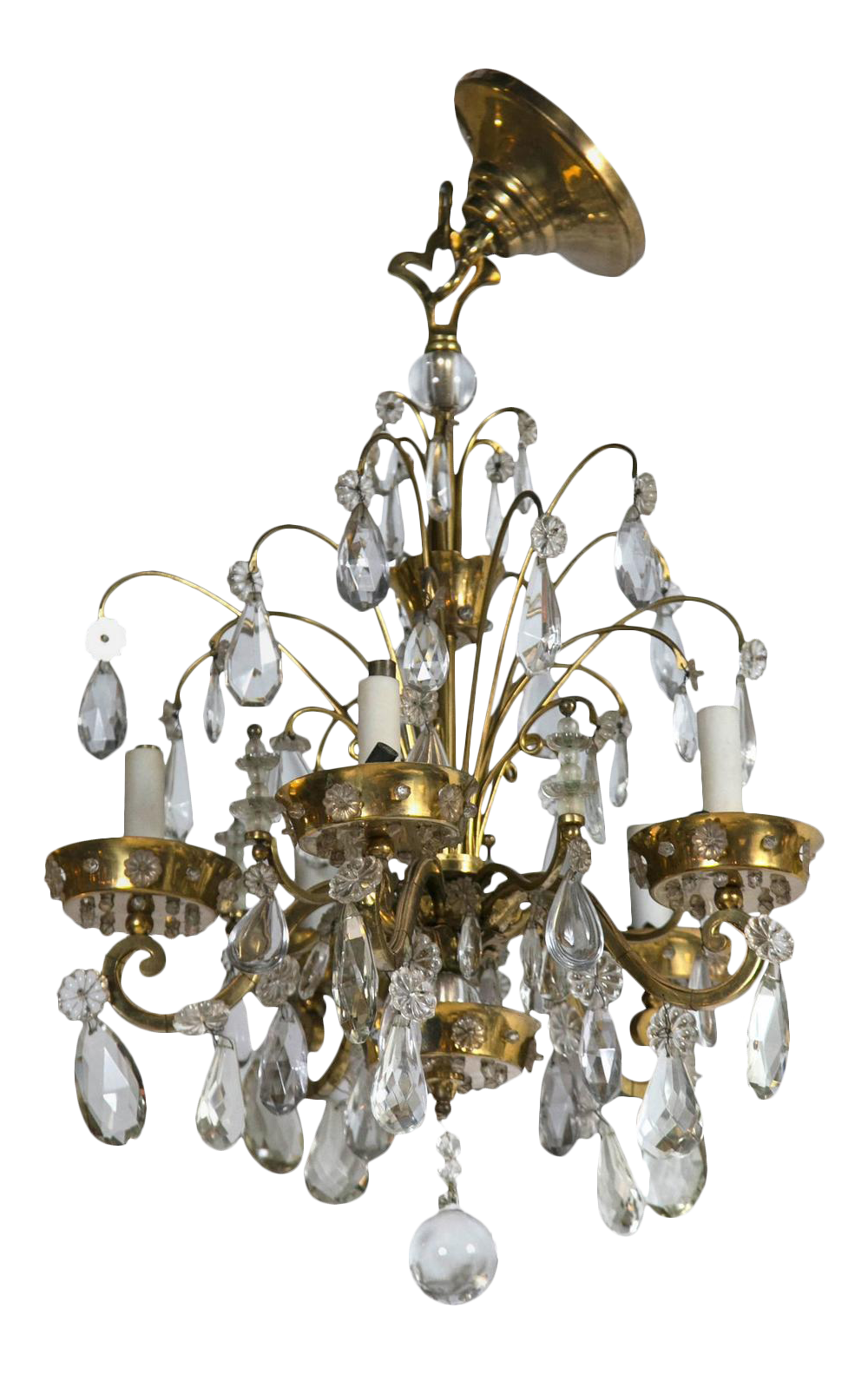 Fine french art deco chandelier by maison jansen decaso arubaitofo Choice Image