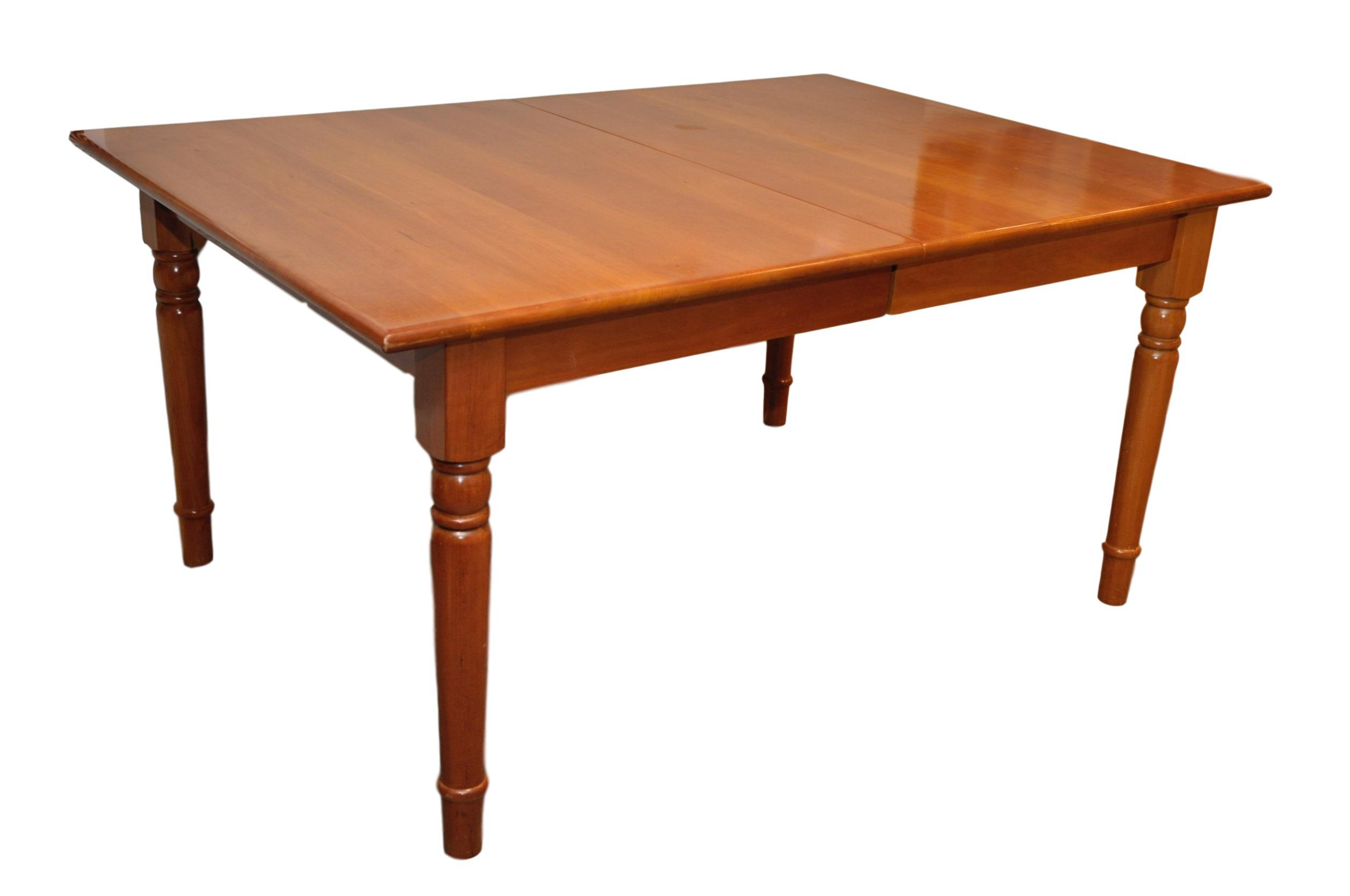 Asher Benjamin Cherry Wood Dining Table | Chairish