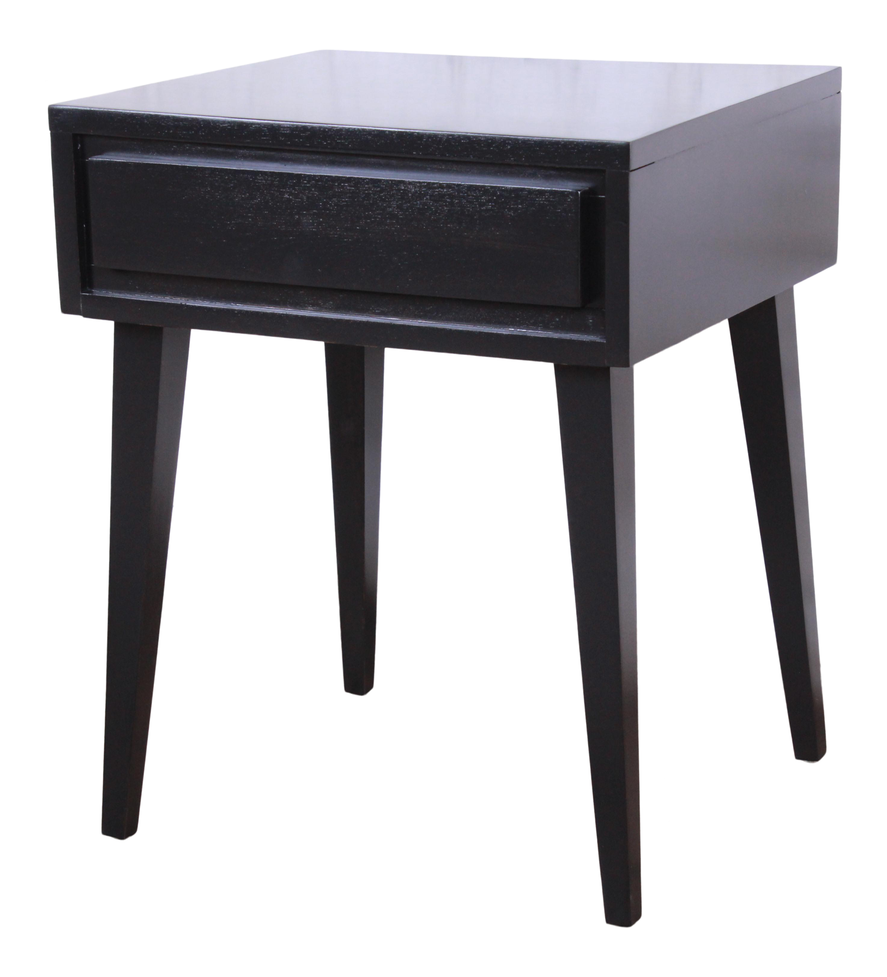 Pleasing Russel Wright For Conant Ball American Modern Ebonized Nightstand Newly Refinished Download Free Architecture Designs Itiscsunscenecom