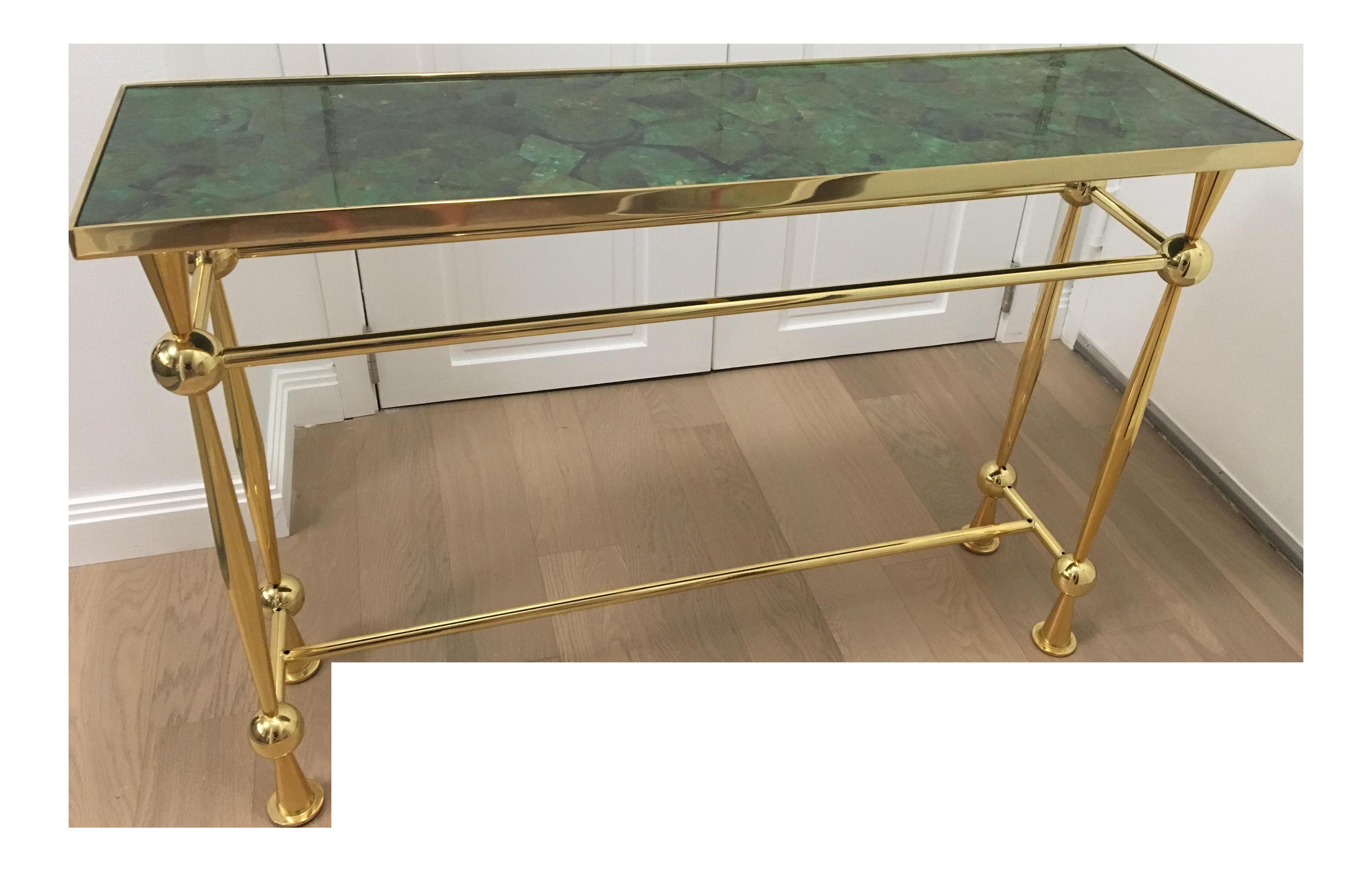 Jonathan Adler Caracas Console Table   Chairish