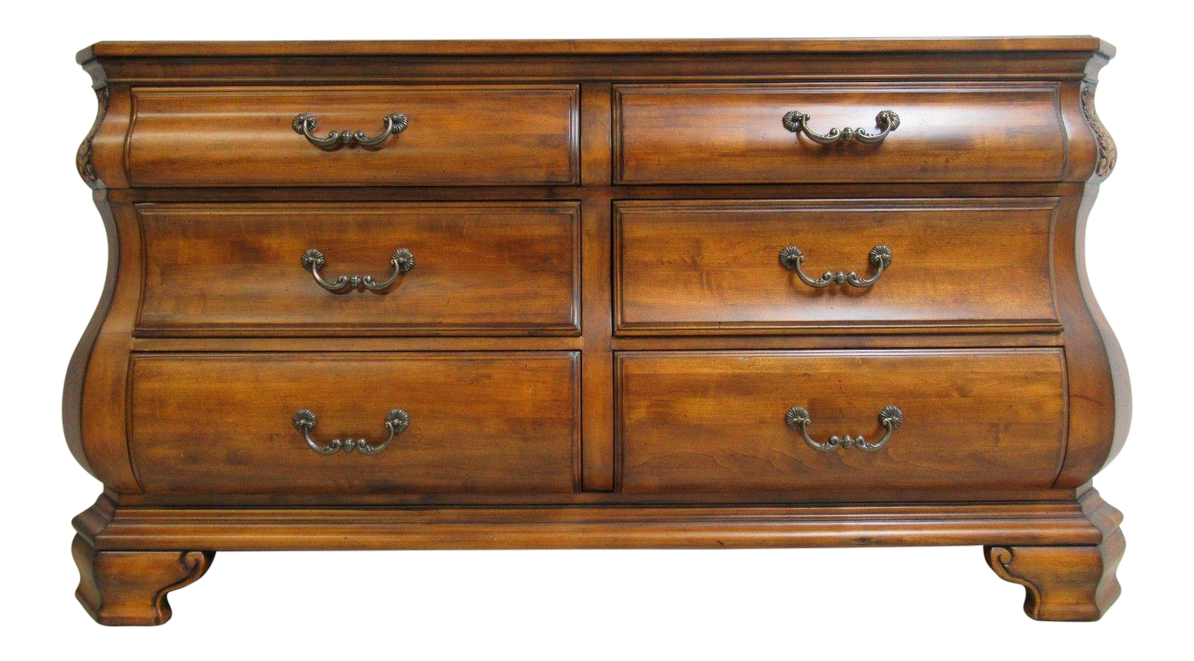 Ethan Allen Tuscany French Carved Server Sideboard Buffet