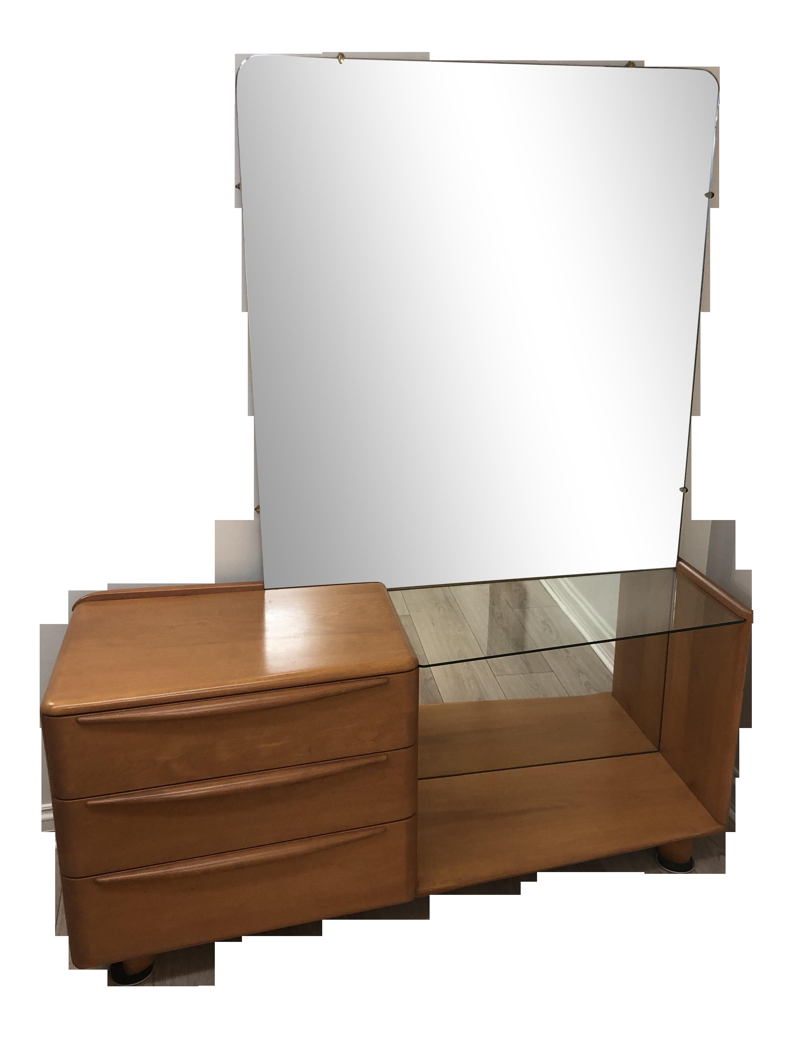 Picture of: Heywood Wakefield Mid Century Modern Vanity Chairish