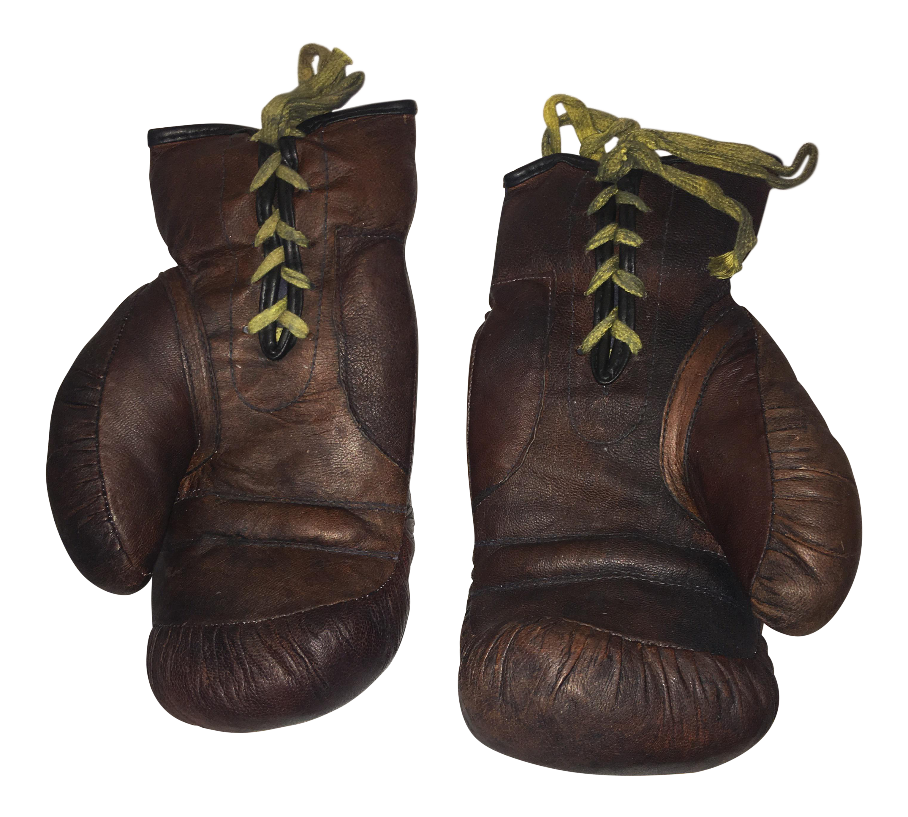 Leather Boxing Gloves A Pair Chairish