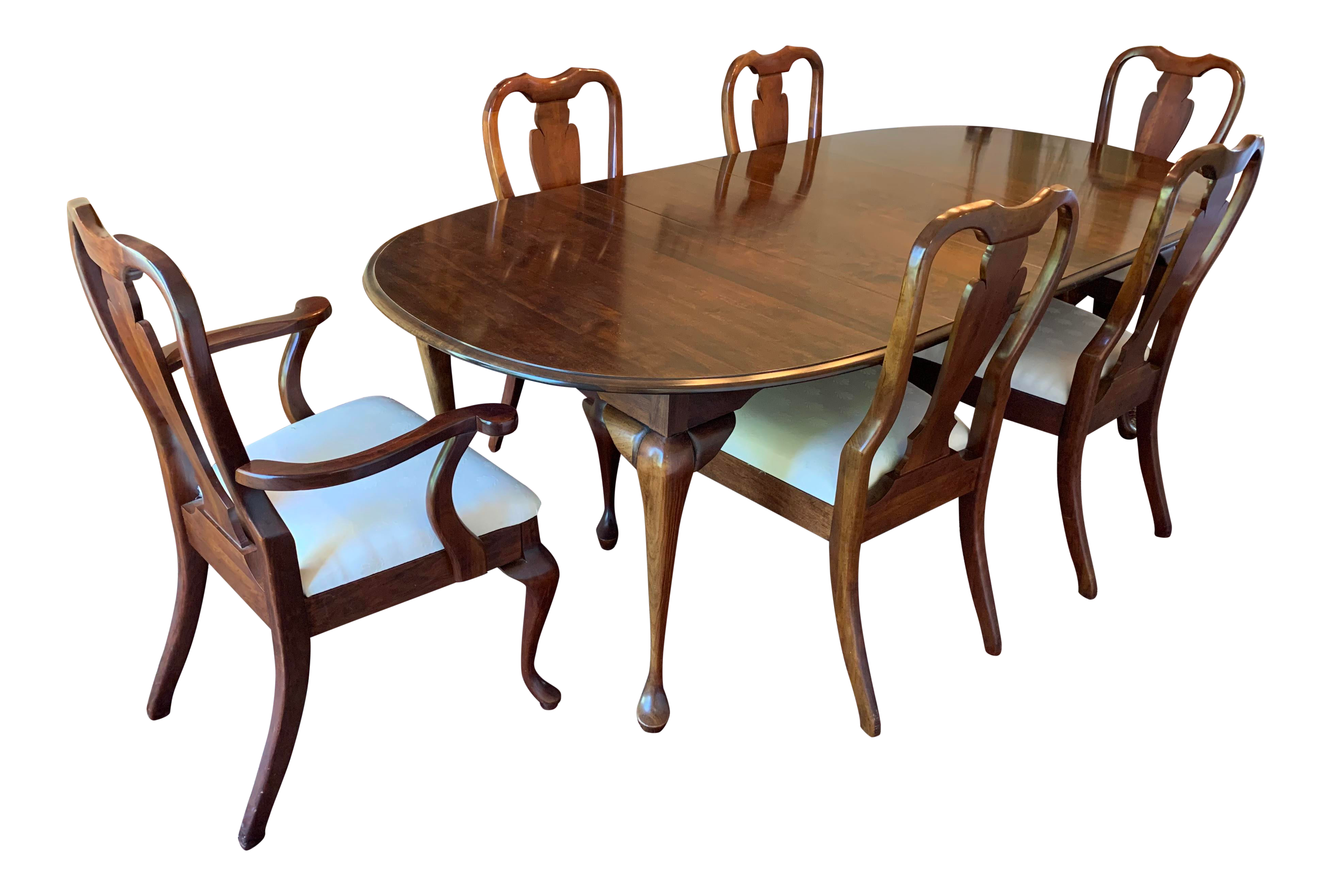 Cresent Cherry Dining Set Chairish