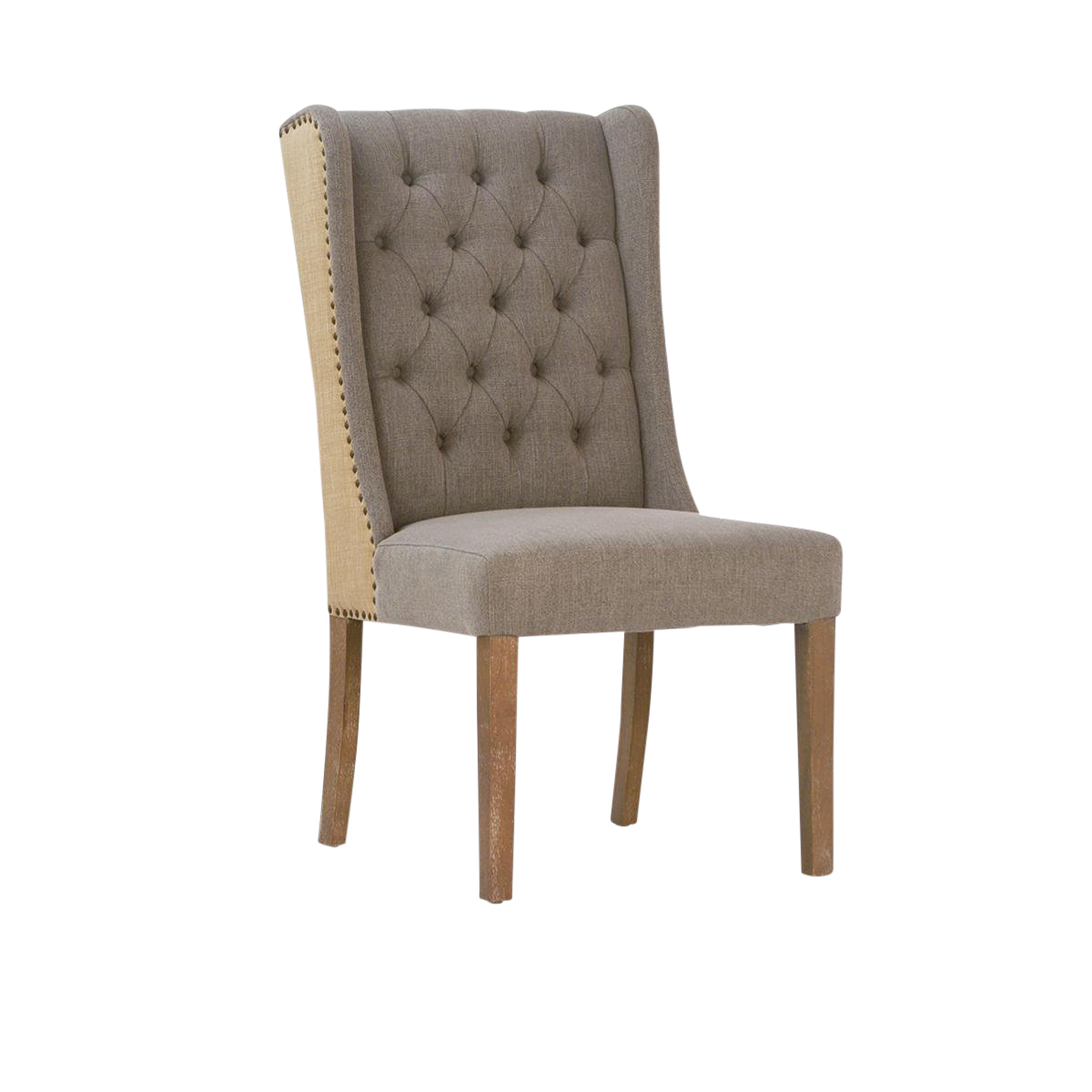 High Back Tufted Dining Chair